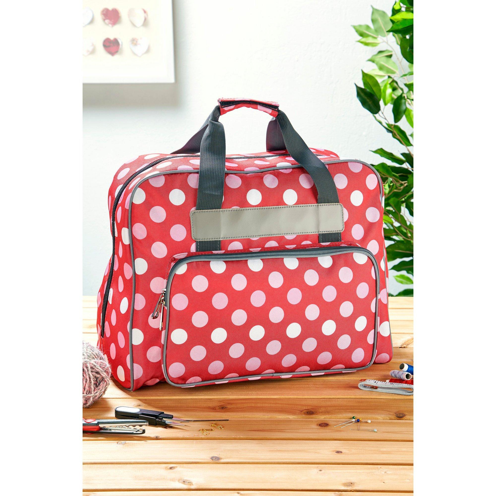 Image of Polka Dot Sewing Bag