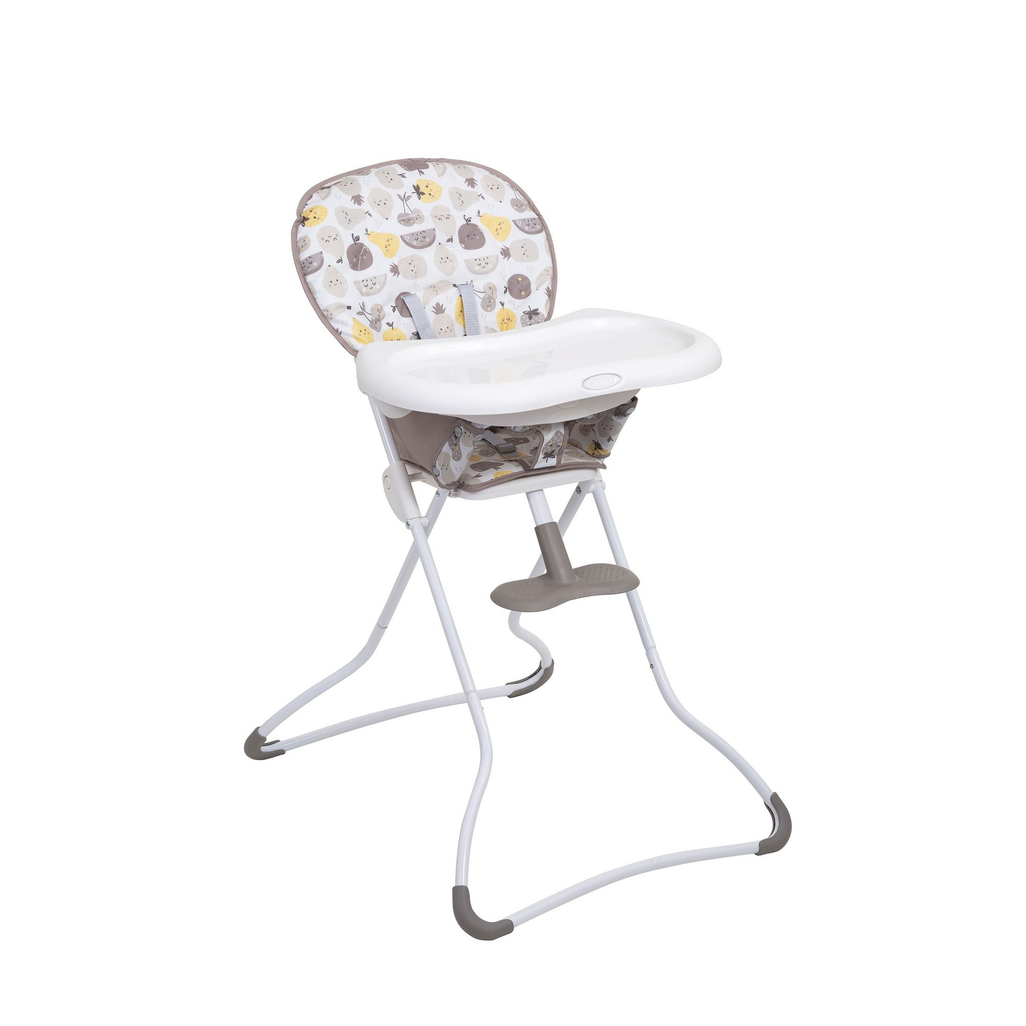 Image of Graco Fruitella Snack N Stow Highchair