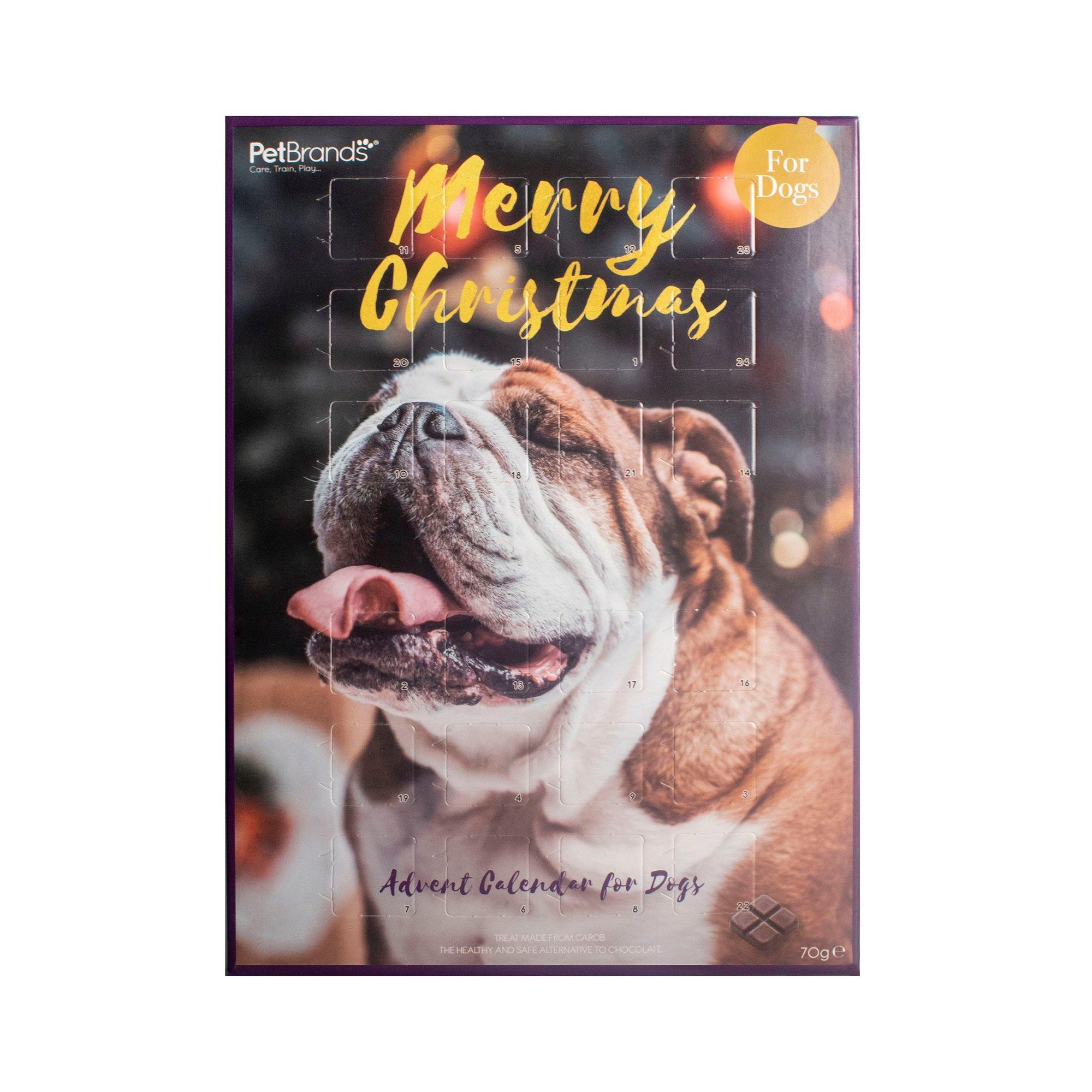 Image of Carob Treat Dog Advent Calendar