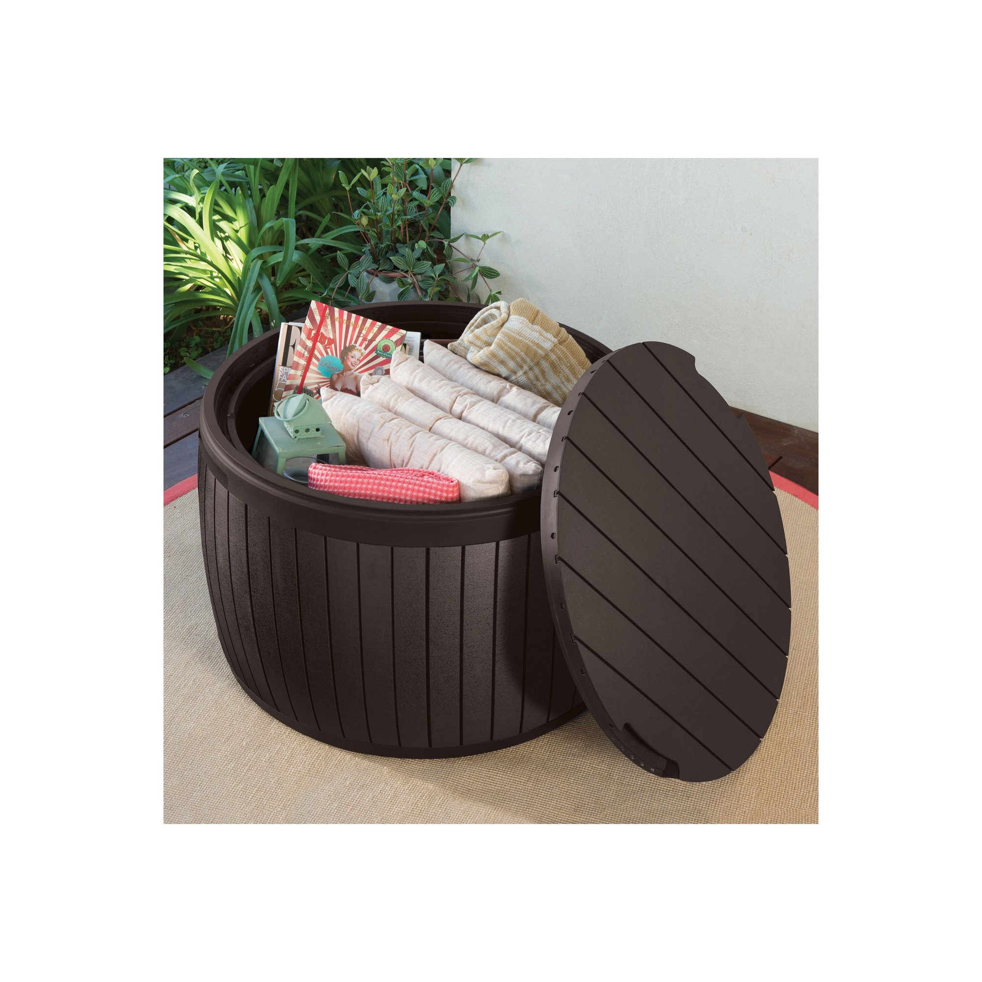 Image of Keter Circa Wood Look Deck Box