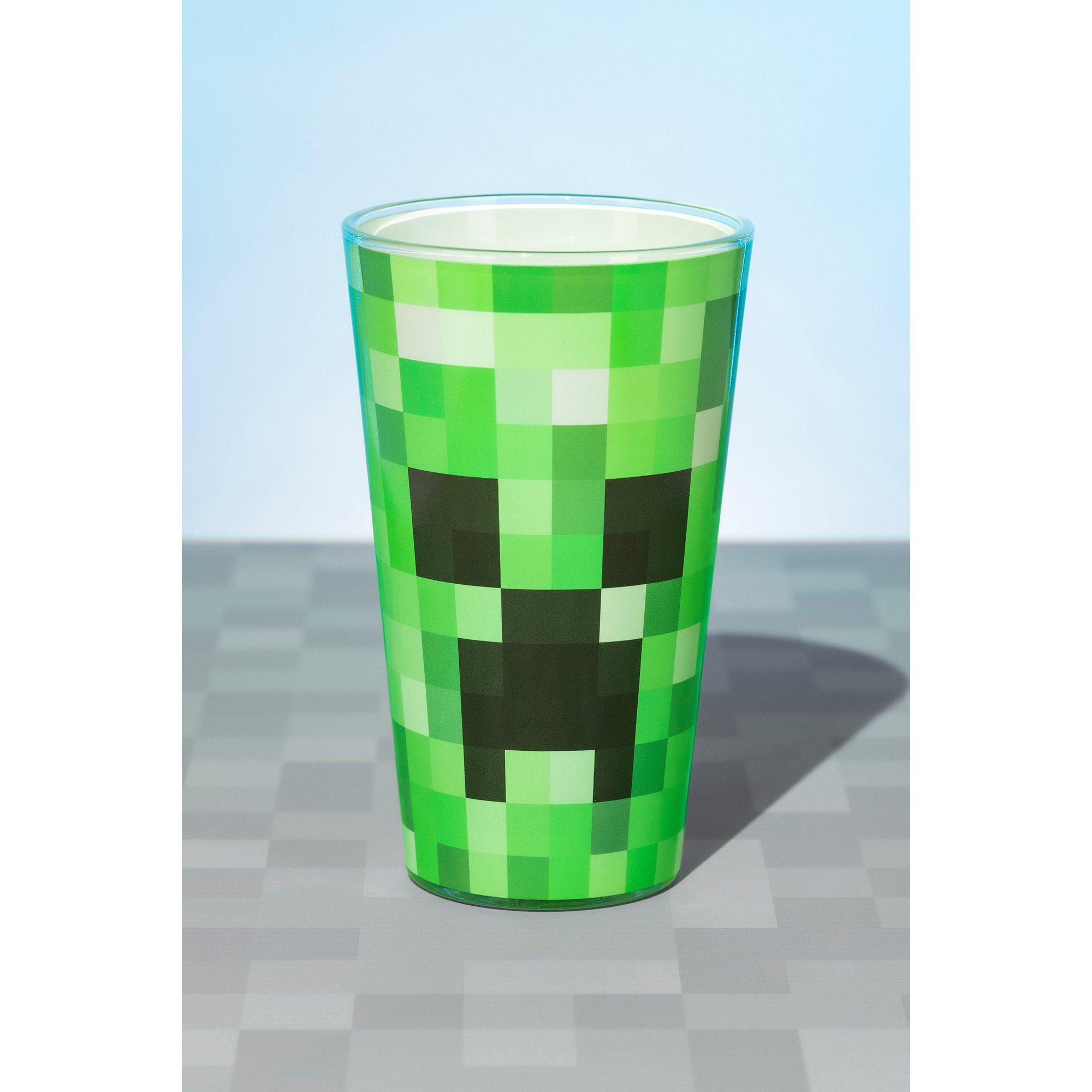 Image of Minecraft Creeper Glass