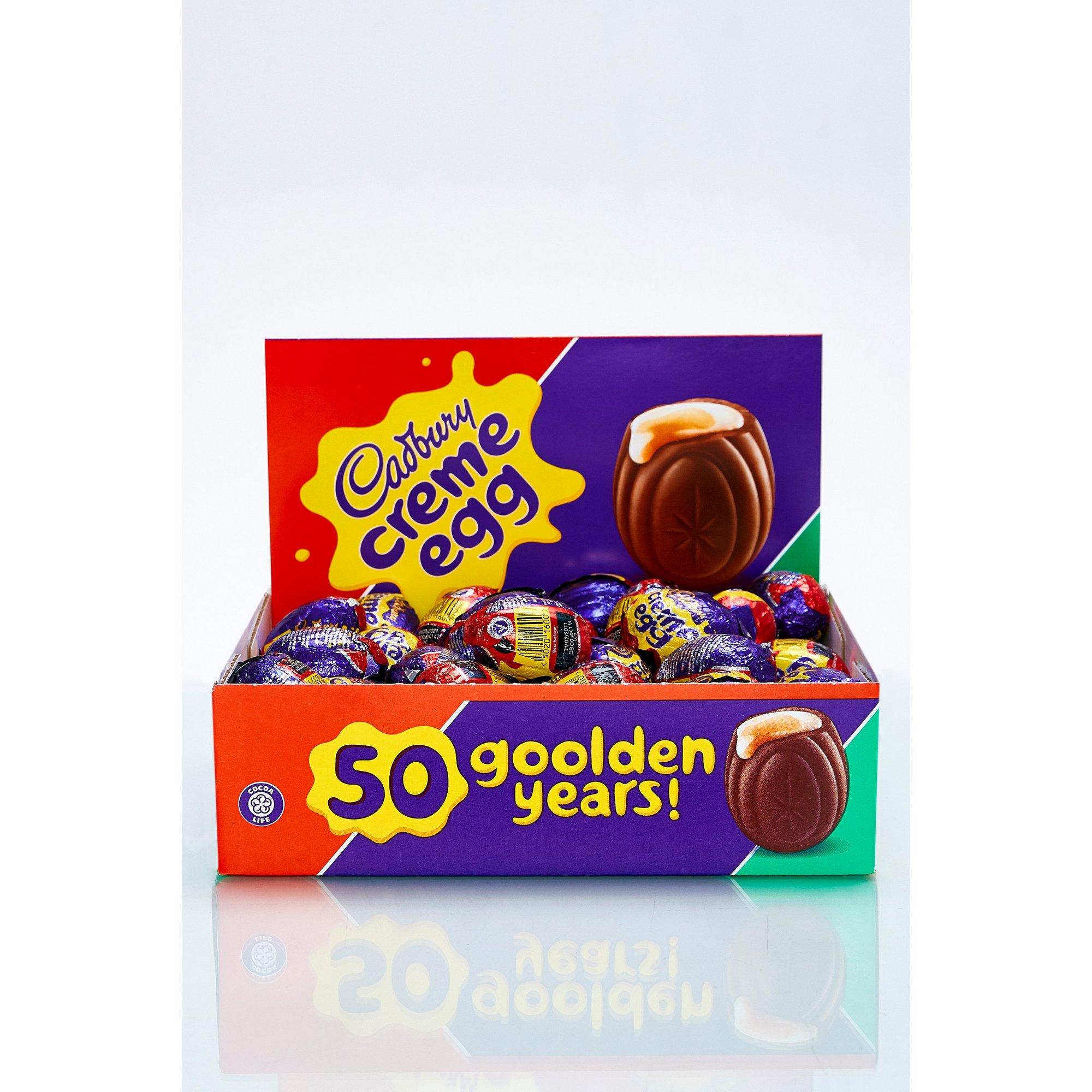 Image of Cadbury Creme Egg Box 48