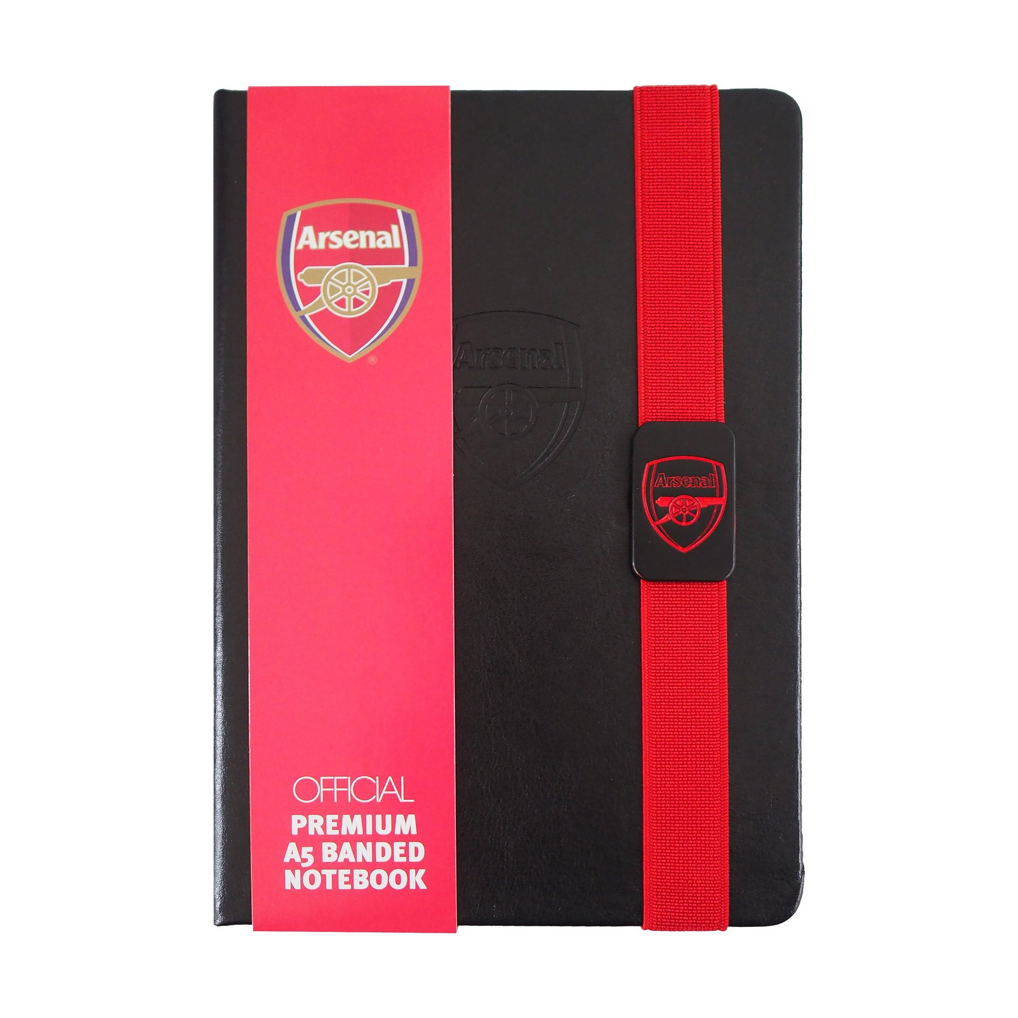Image of Arsenal FC A5 Lined Paper Notepad