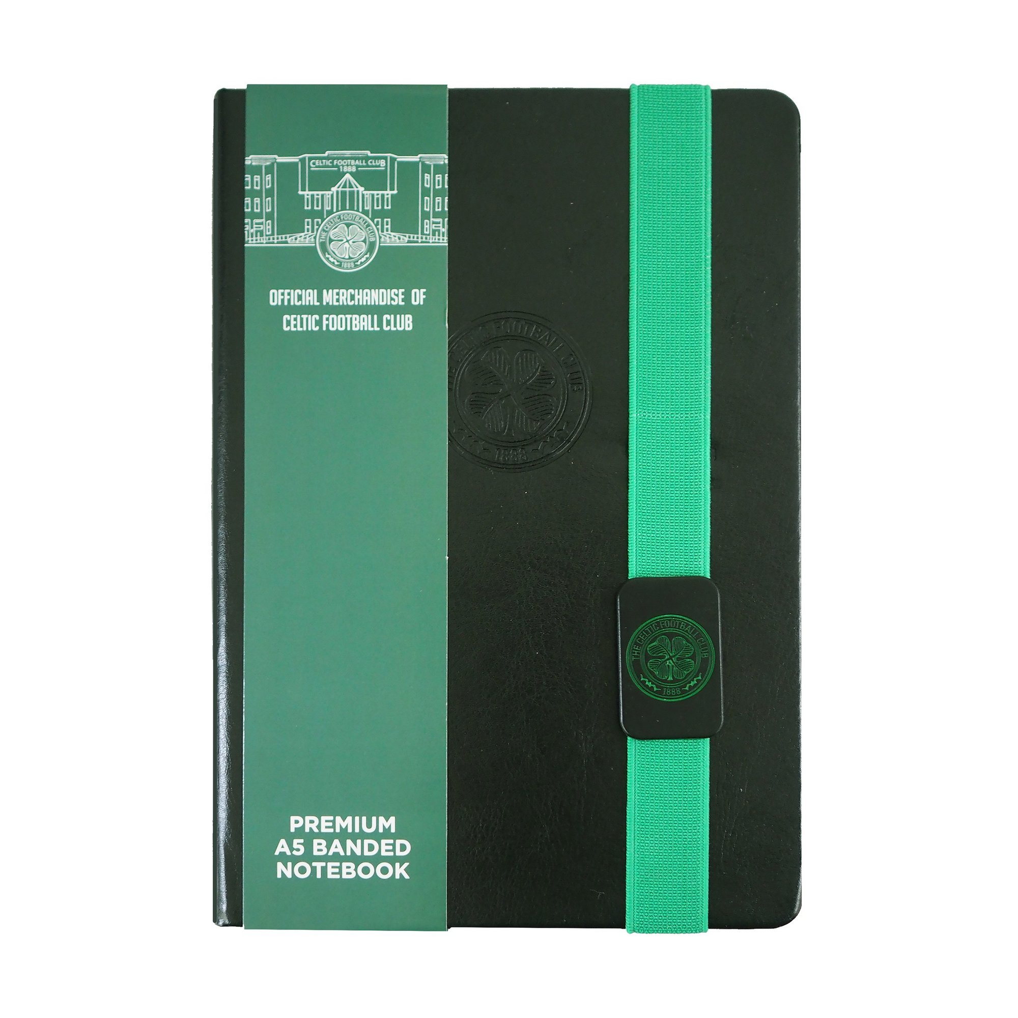 Image of Celtic FC A5 Lined Paper Notepad
