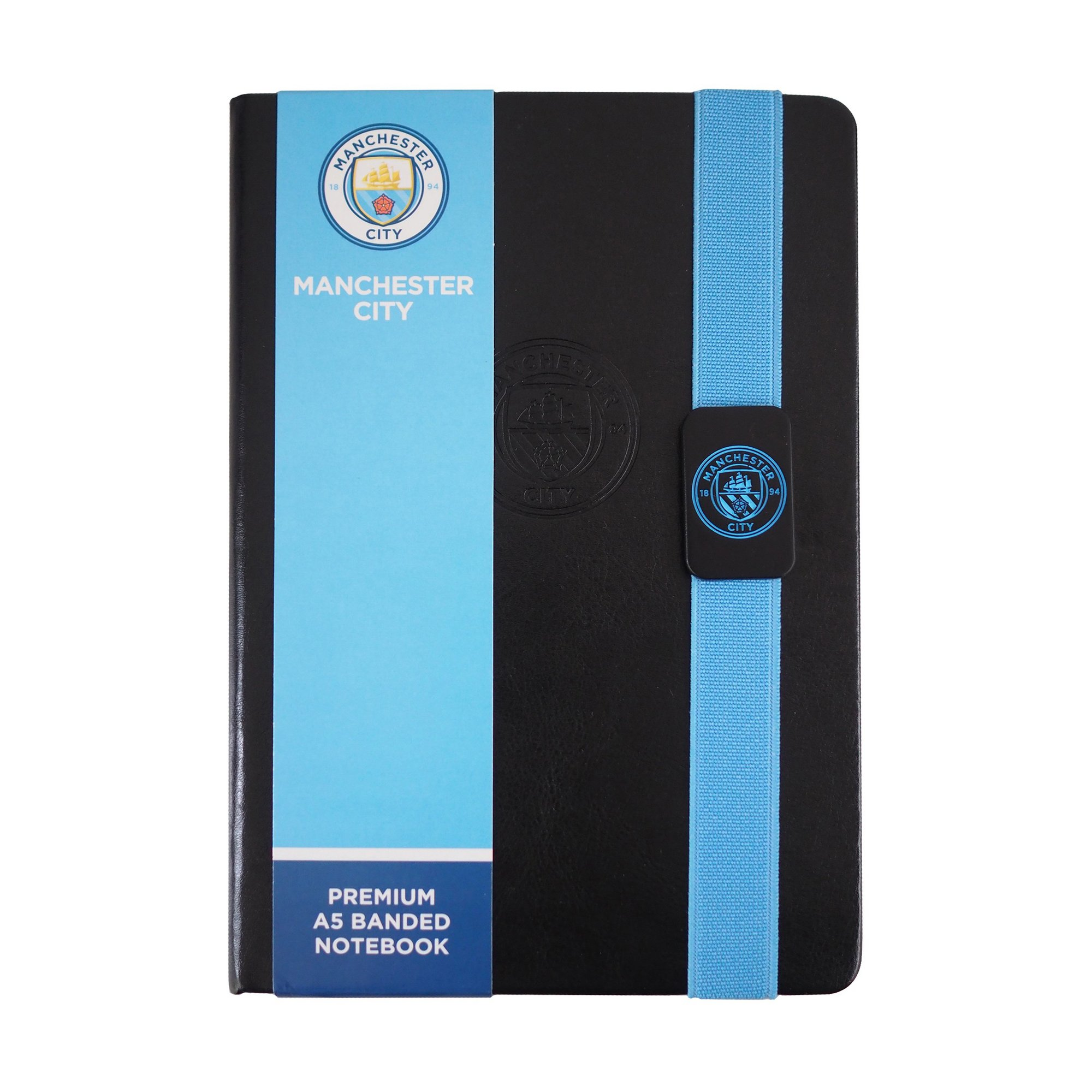 Image of Man City FC A5 Lined Paper Notepad
