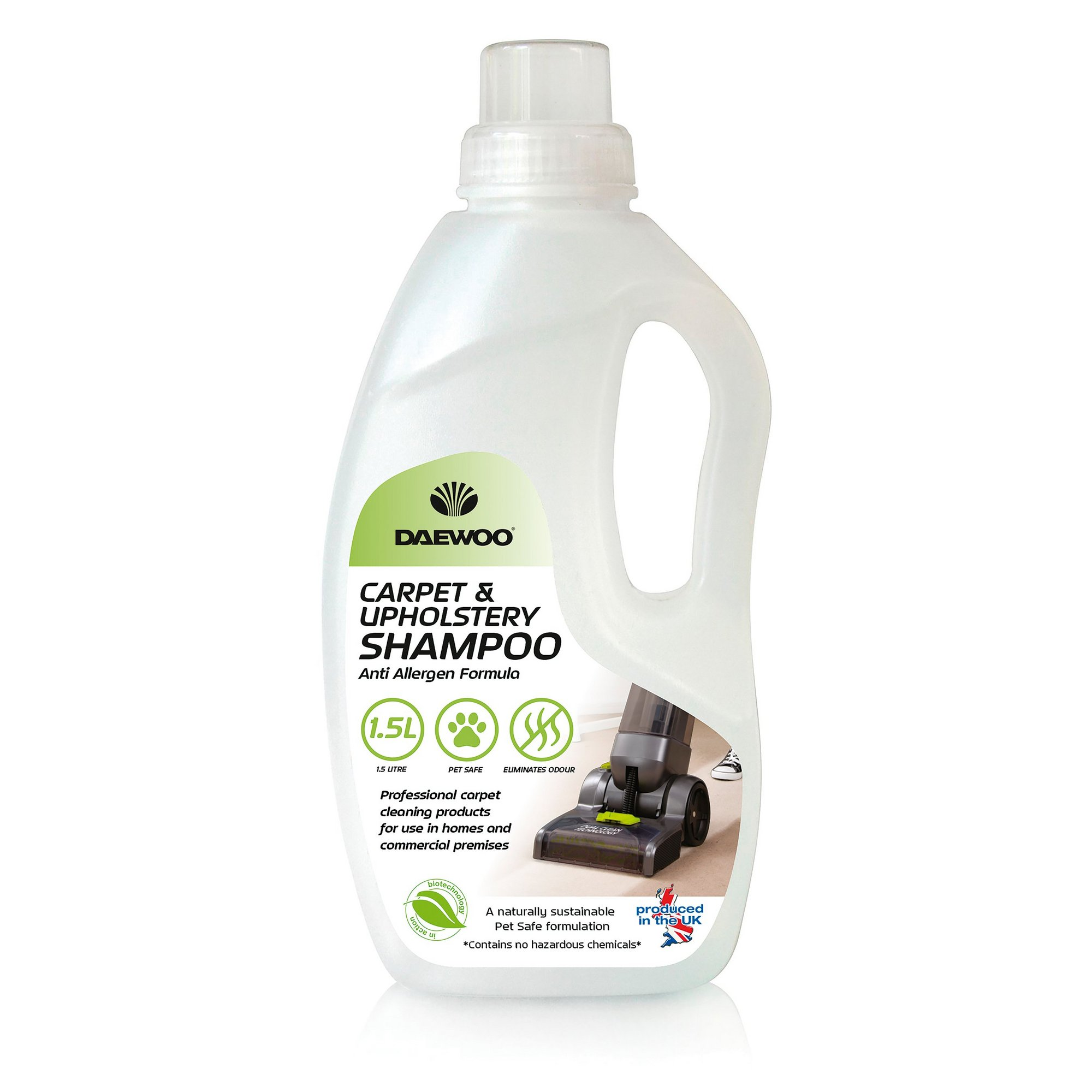 Image of Daewoo 1.5L Carpet Cleaning Solution