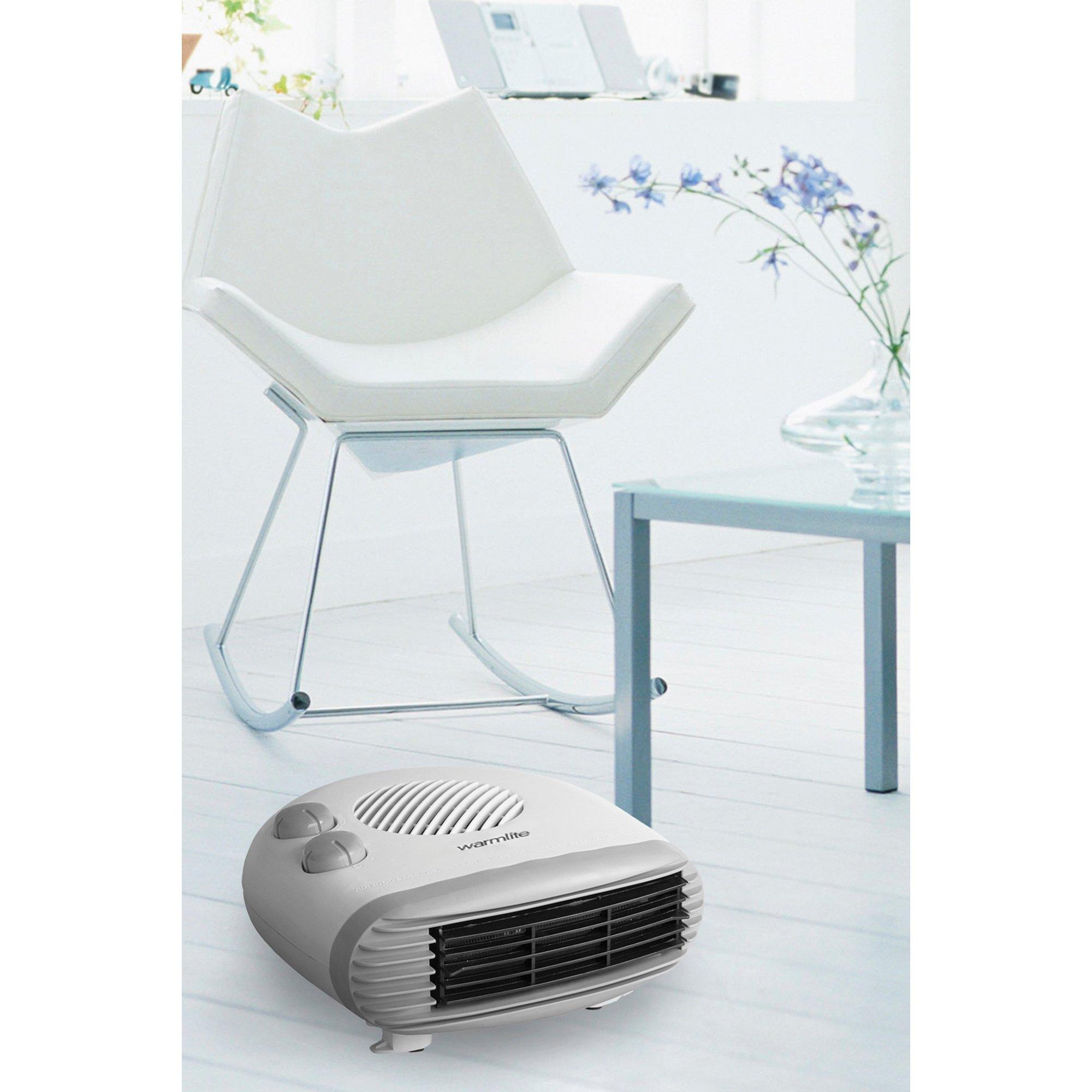 Warmlite 2000W Flat Fan Heater