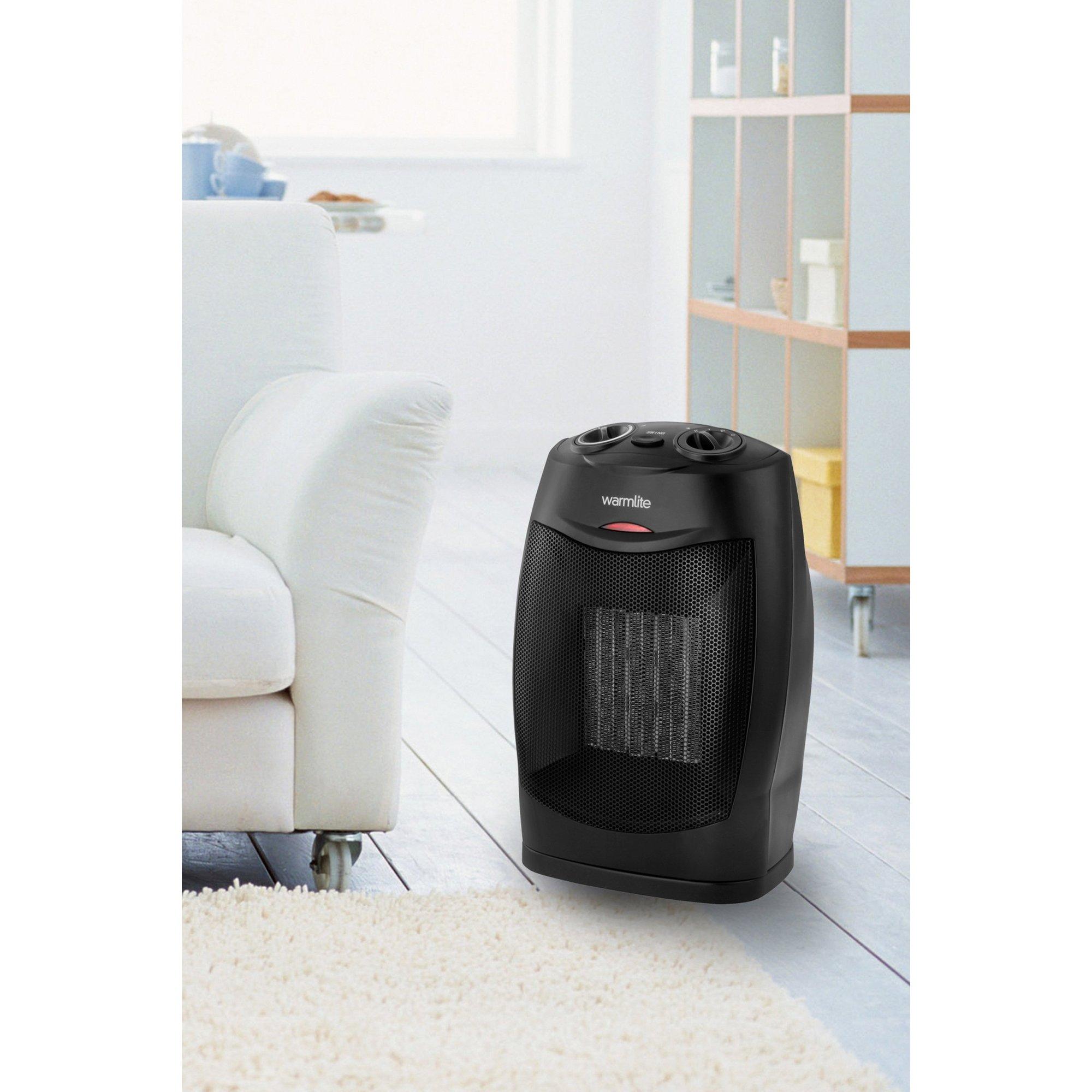 Warmlite 1500W Ceramic PTC Fan Heater