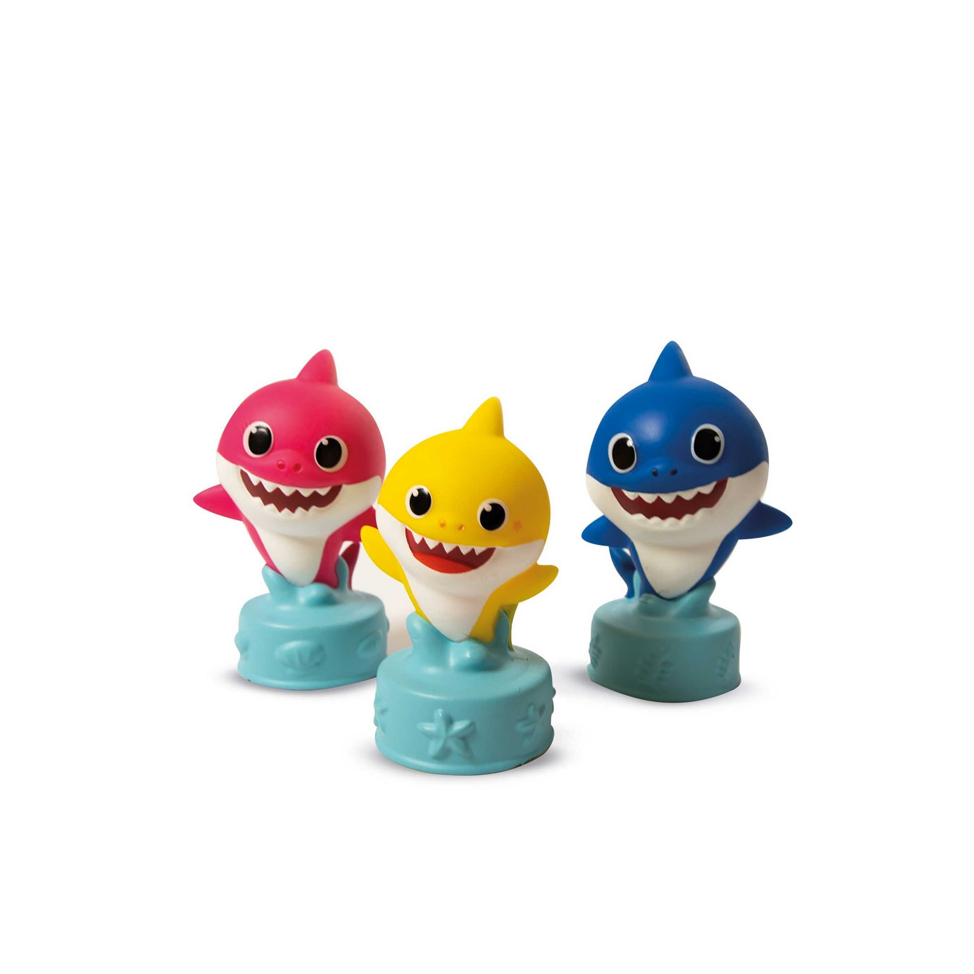 Image of Clementoni Baby Shark Soft Clemmy Blocks Bag
