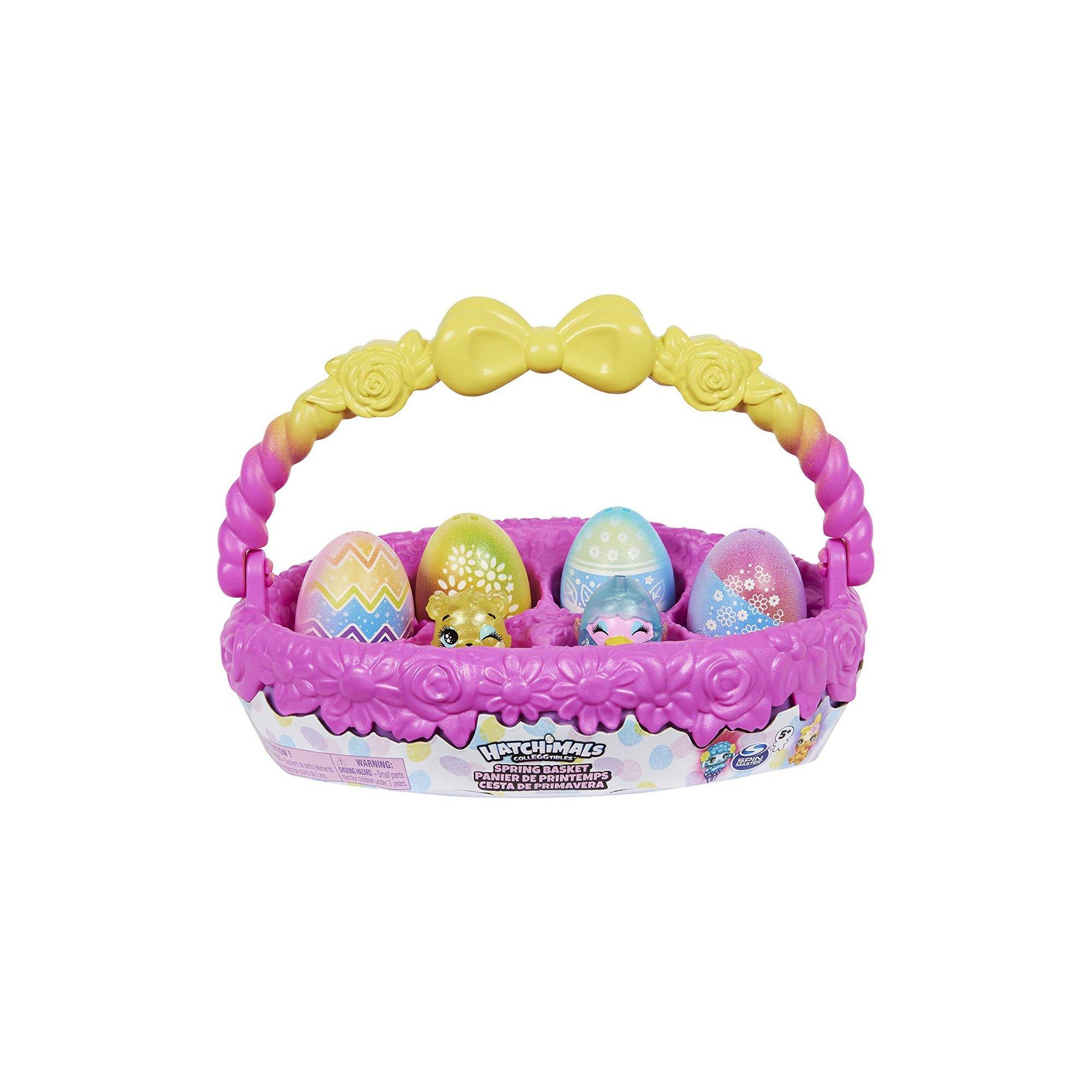 Image of Hatchimals Colleggtibles Spring Basket
