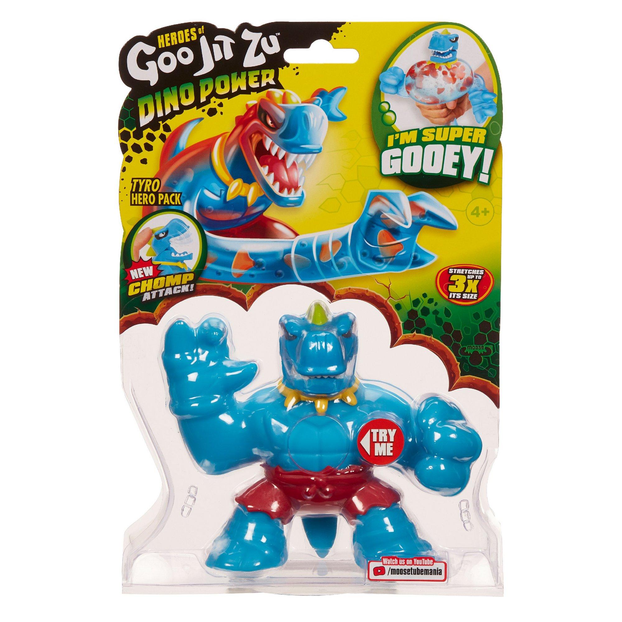 Image of Heroes Of Goo Jit Zu S3 Dino Power - Tyro The T-Rex