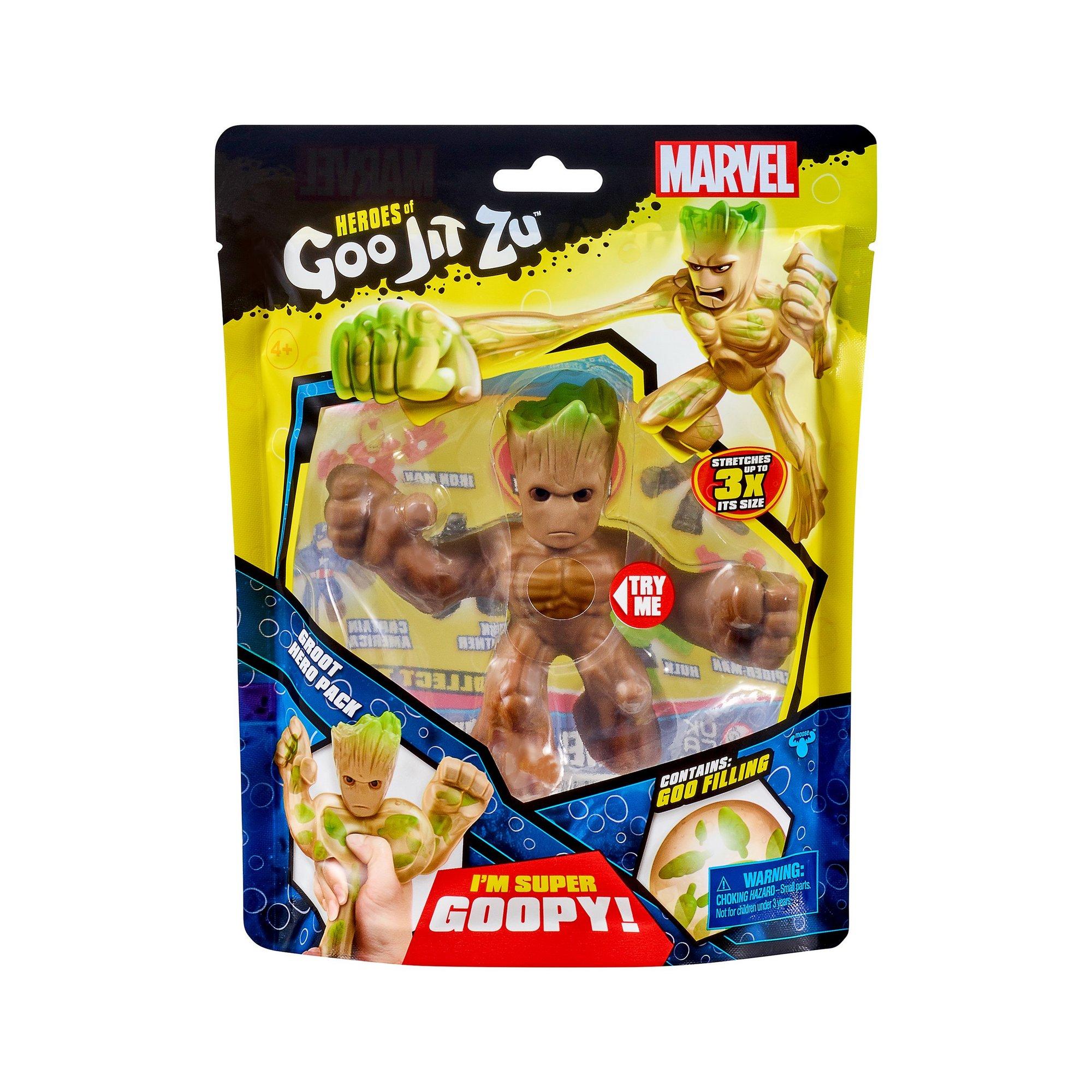 Image of Heroes Of Goo Jit Zu Marvel Superheroes - Groot