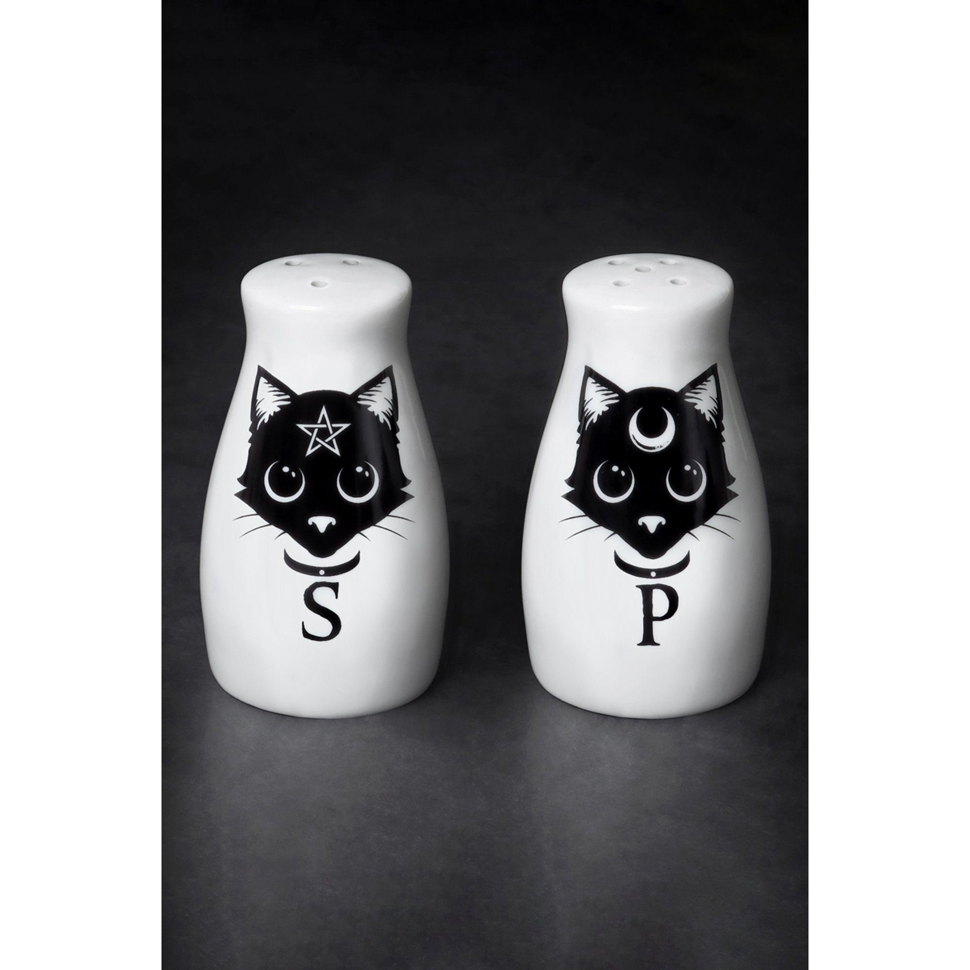 Image of Cats: Salt and Pepper Set