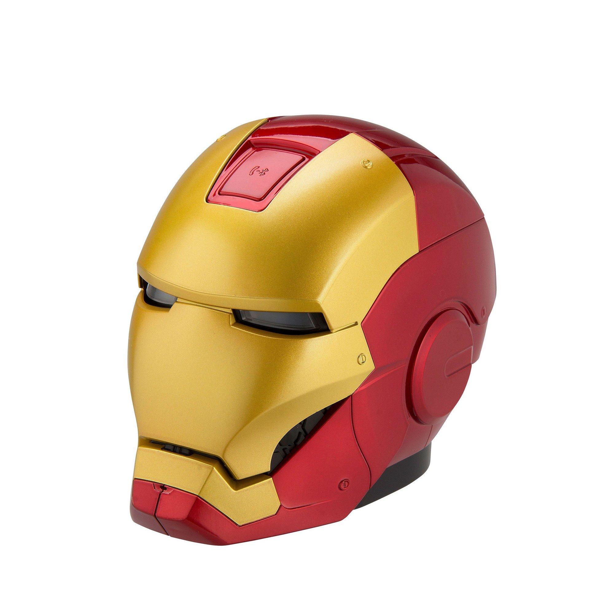Image of Avengers Assemble Bluetooth Iron Man Helmet Speaker
