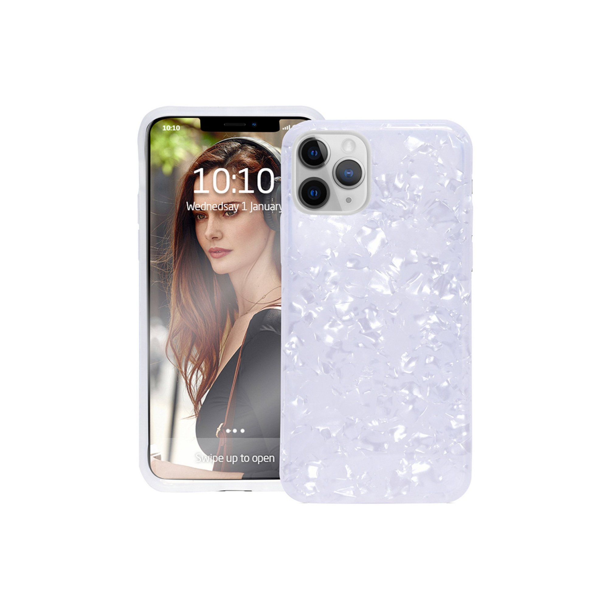 Image of Groov-e Design Case for iPhone 11 Pro - Pearl White