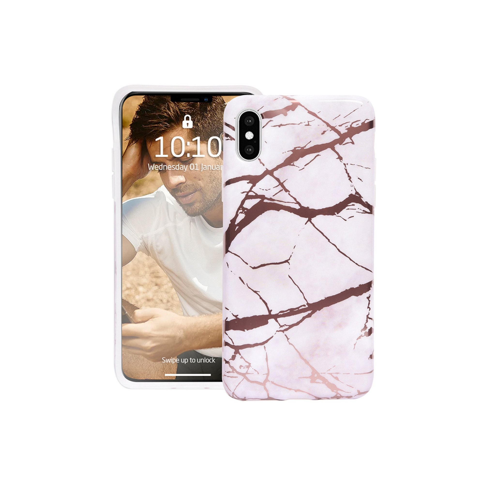 Image of Groov-e Design Case for iPhone X/XS - Marble