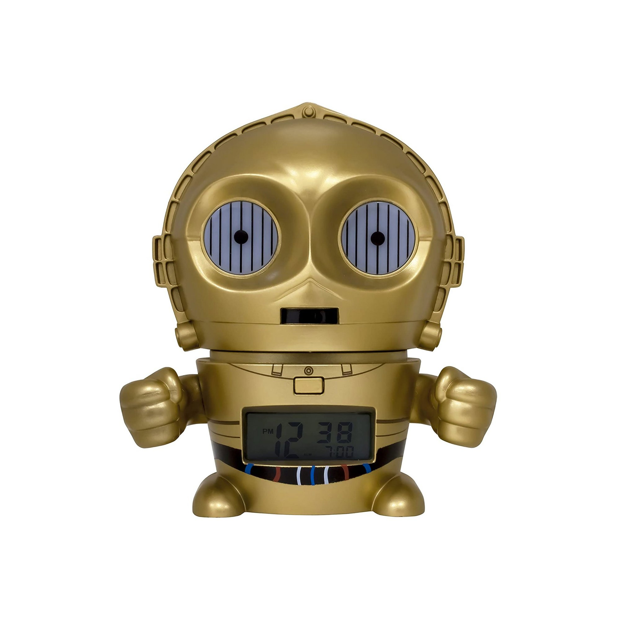 Image of Star Wars C-3PO Night Light Alarm Clock