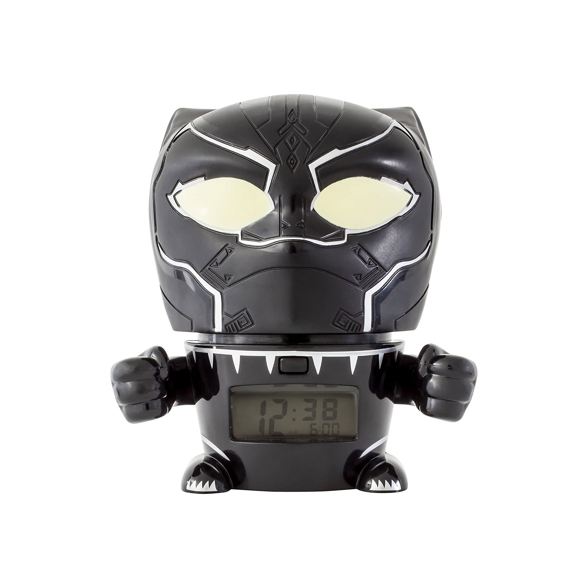 Image of Avengers Infinity War Black Panther Night Light Alarm Clock