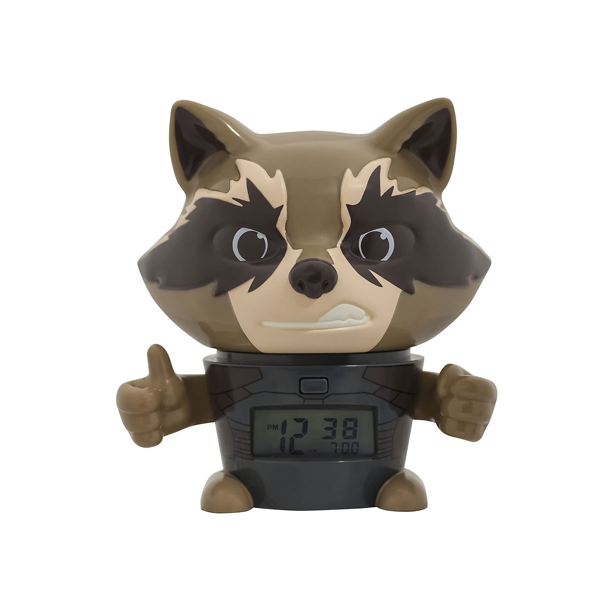 Image of Avengers Infinity War Rocket Raccoon Night Light Alarm Clock