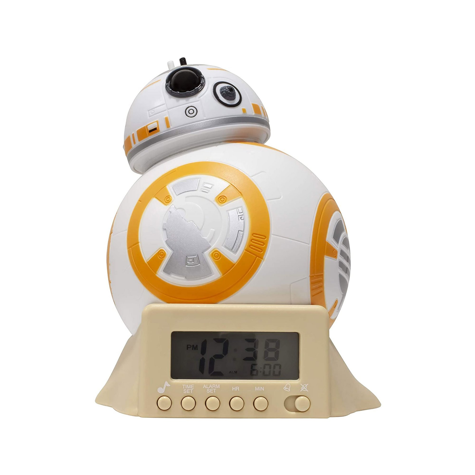 Image of Star Wars BB-8 Night Light Alarm Clock
