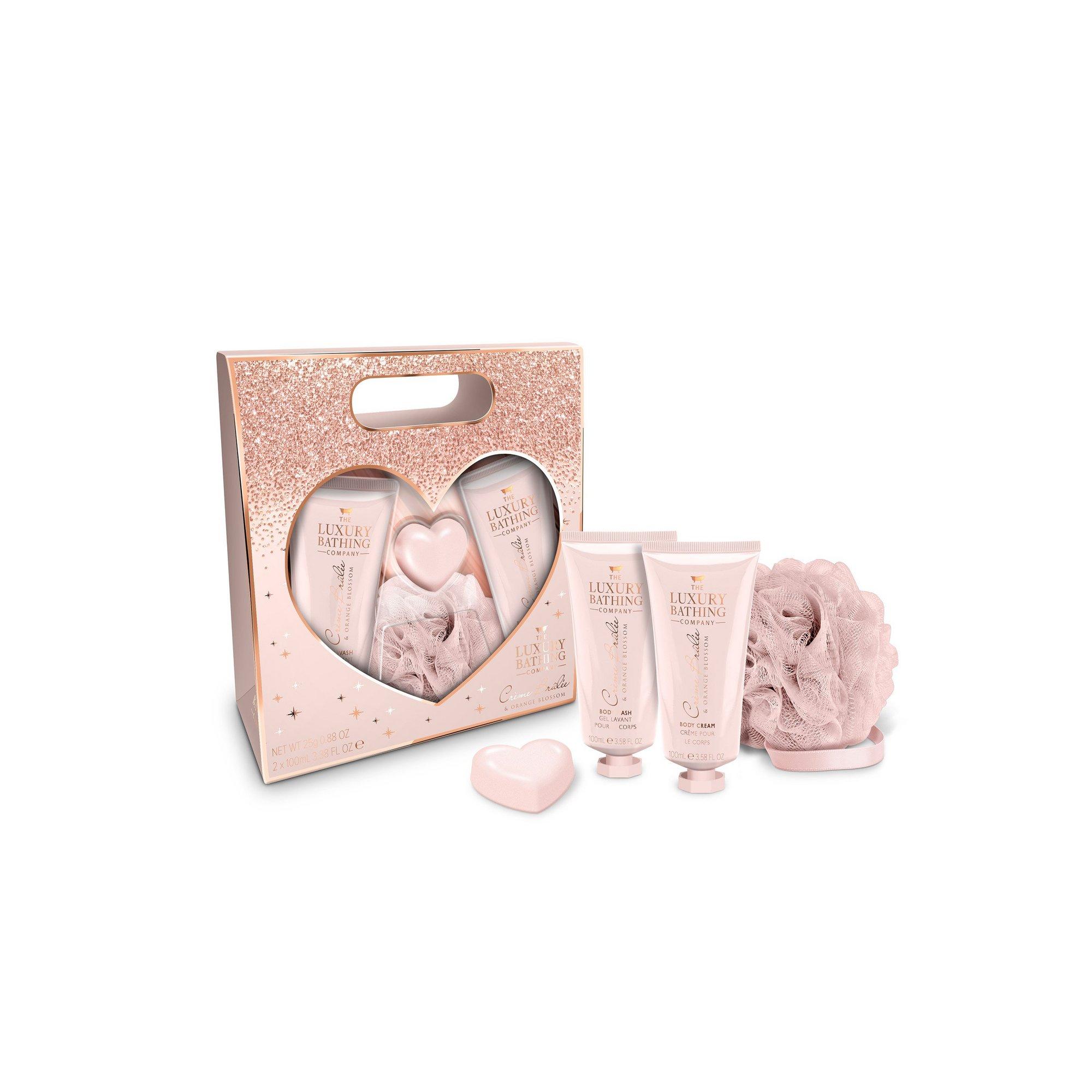 Image of Grace Cole Hearts A Flutter Creme Brulee + Orange Blossom Gift Set