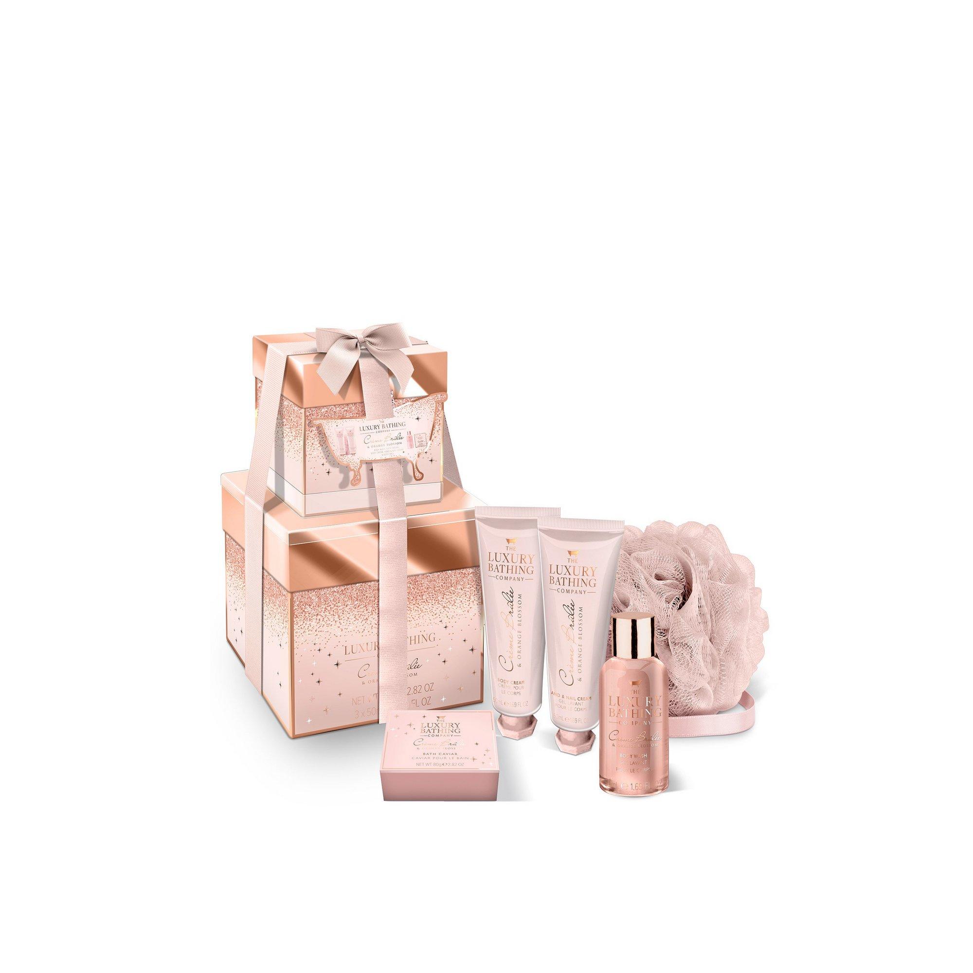 Image of Grace Cole All Stacks Up Crème Brulee + Orange Blossom Gift Set