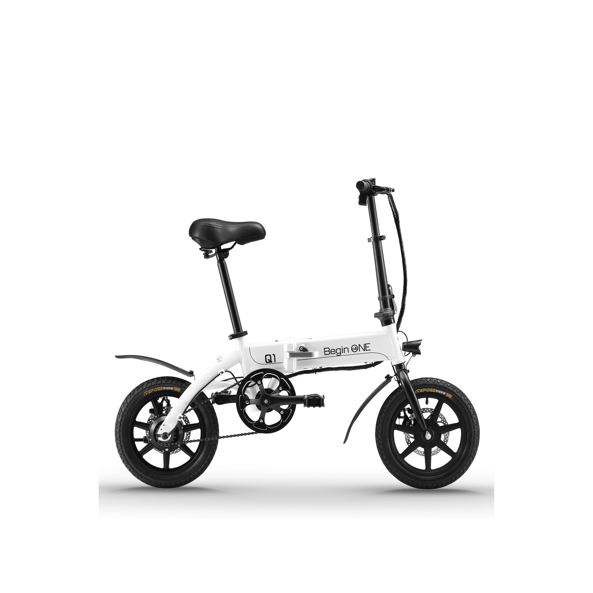 Image of Begin One Electric and Pedal Folding Bike