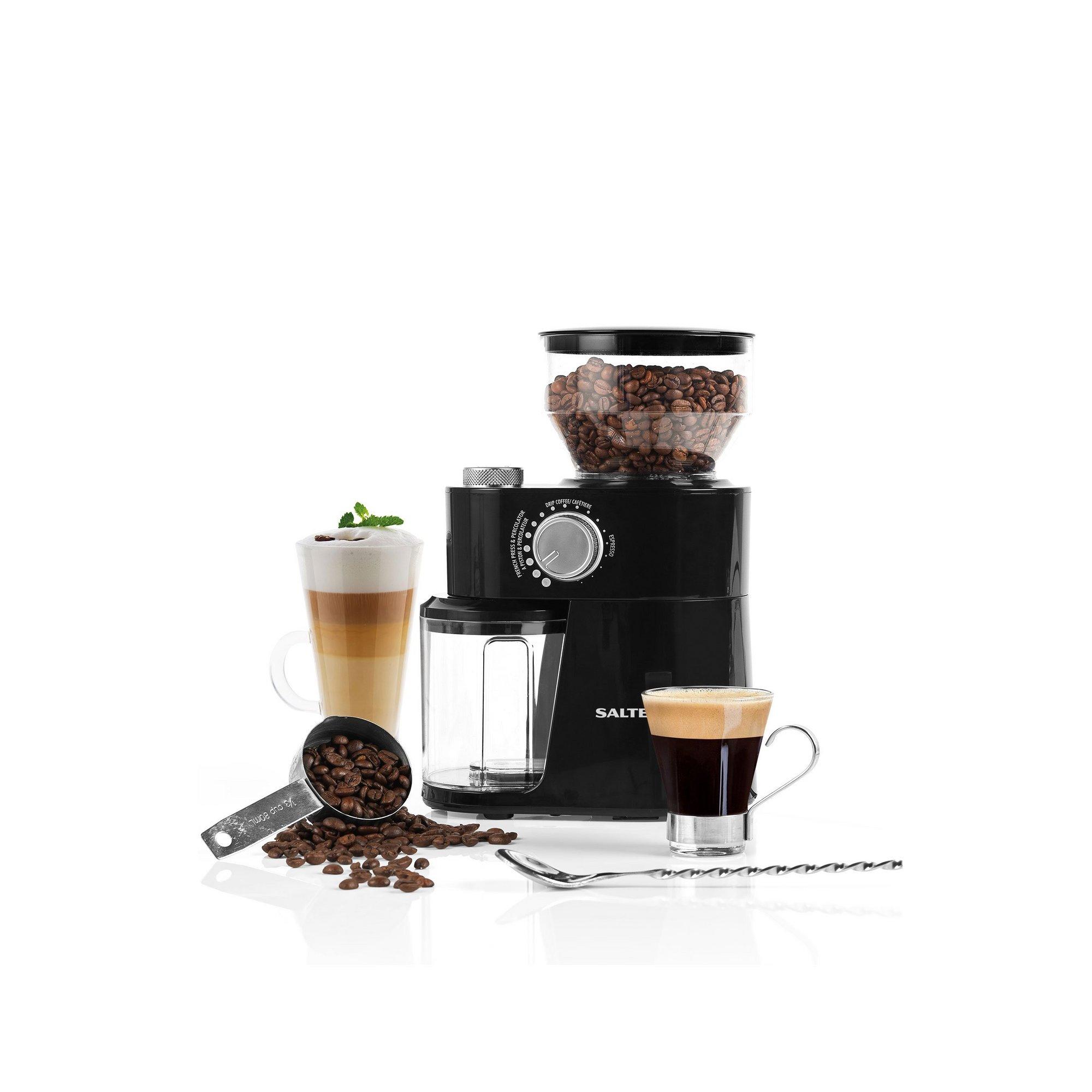 Image of Salter Caffe Burr Coffee Grinder