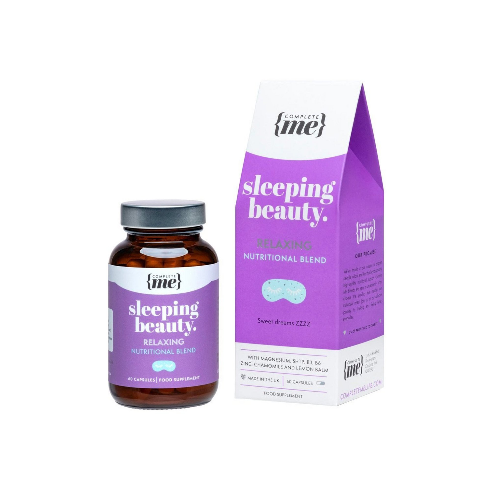Image of Complete Me Sleeping Beauty Relaxing Nutritional Blend Capsules