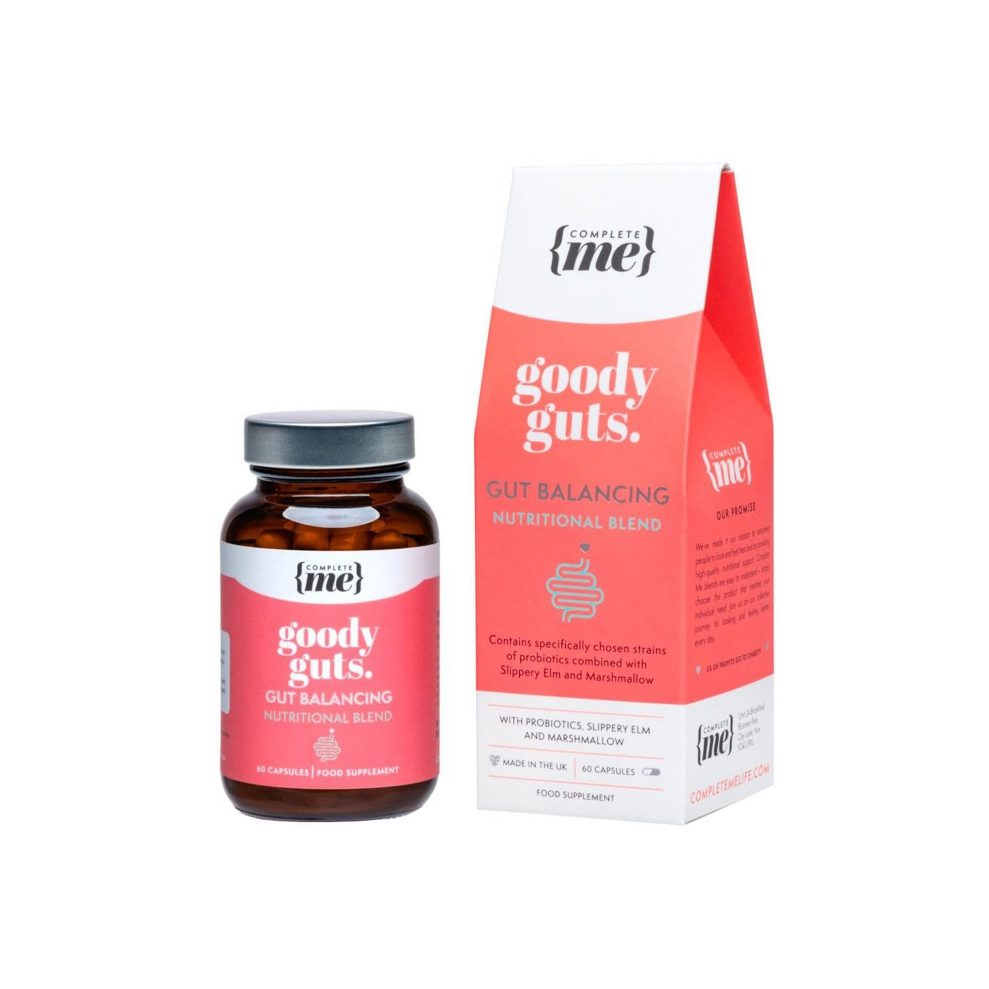 Image of Complete Me Goody Guts Gut Balancing Nutritional Blend Capsules