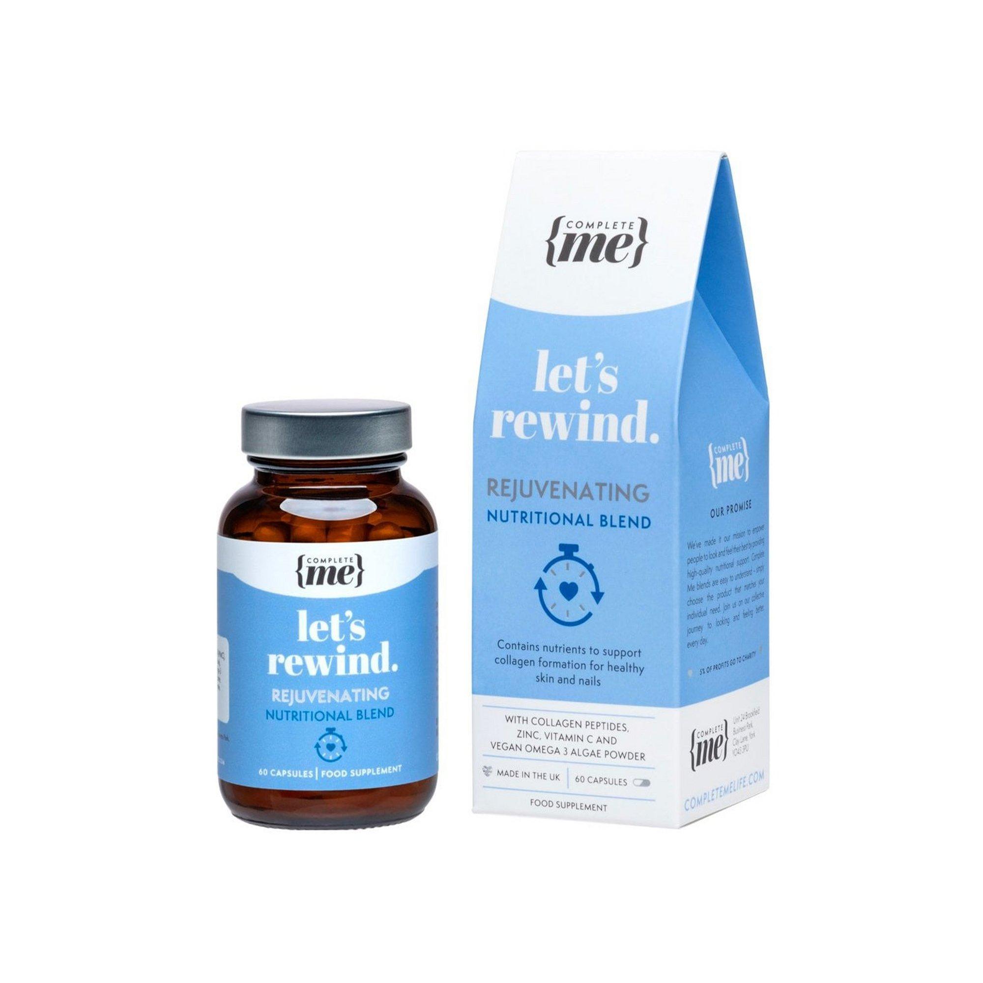Image of Complete Me Lets Rewind Rejuvenating Nutritional Blend Capsules
