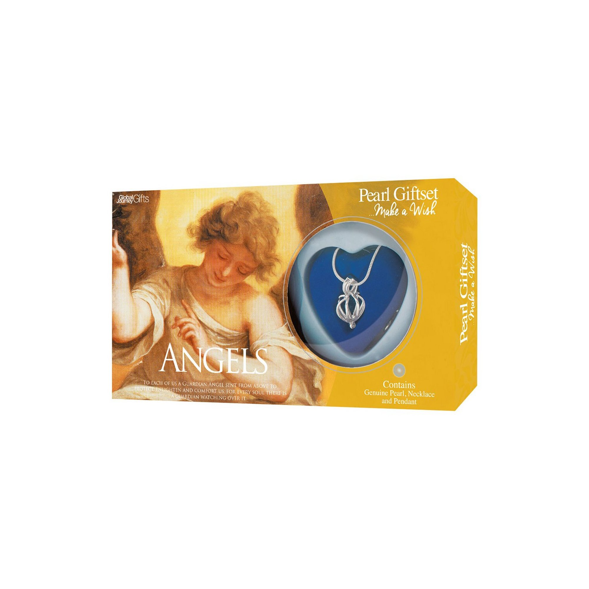 Image of Make A Wish Angels Pearl Pendant Gift Set