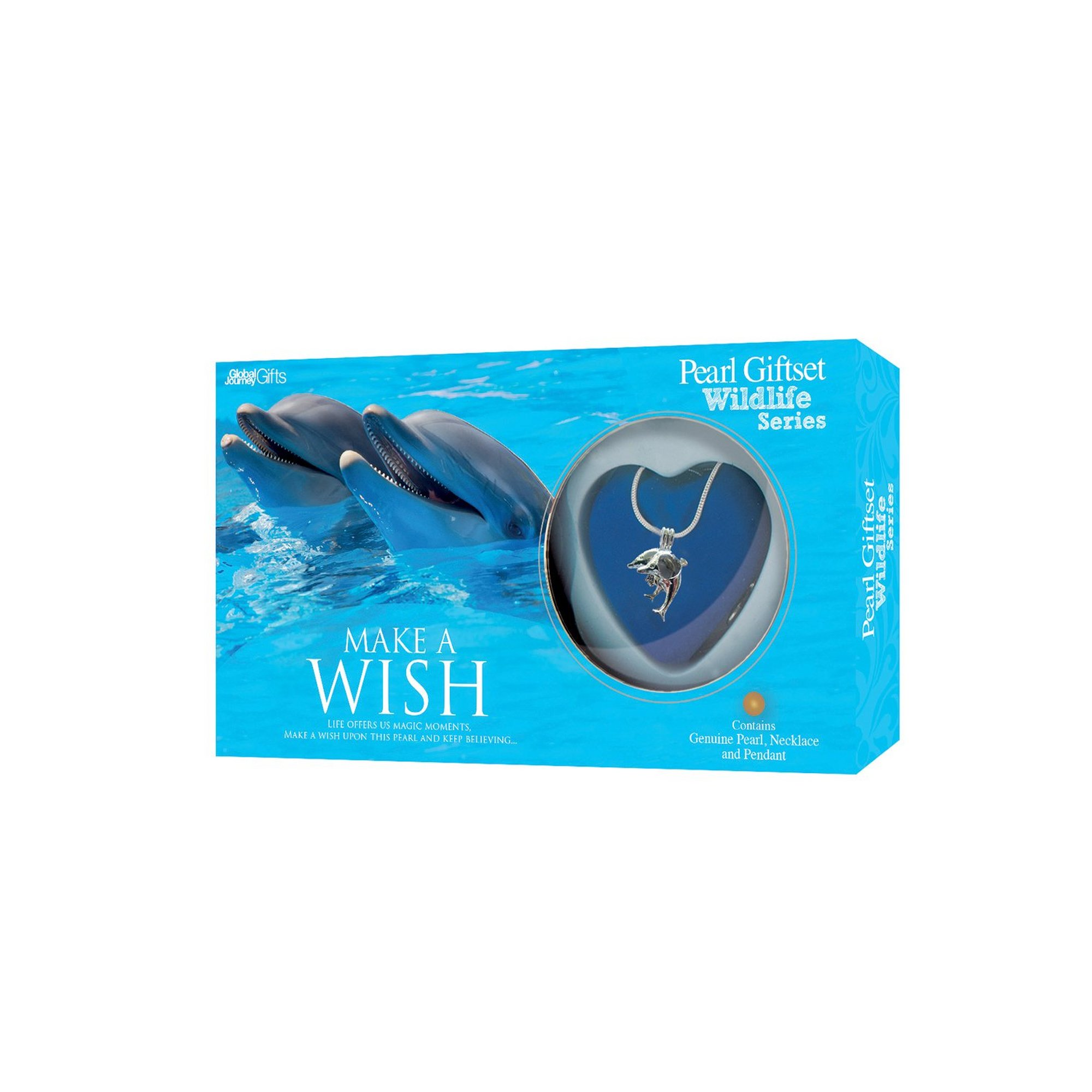 Image of Make A Wish Dolphin Pearl Pendant Gift Set