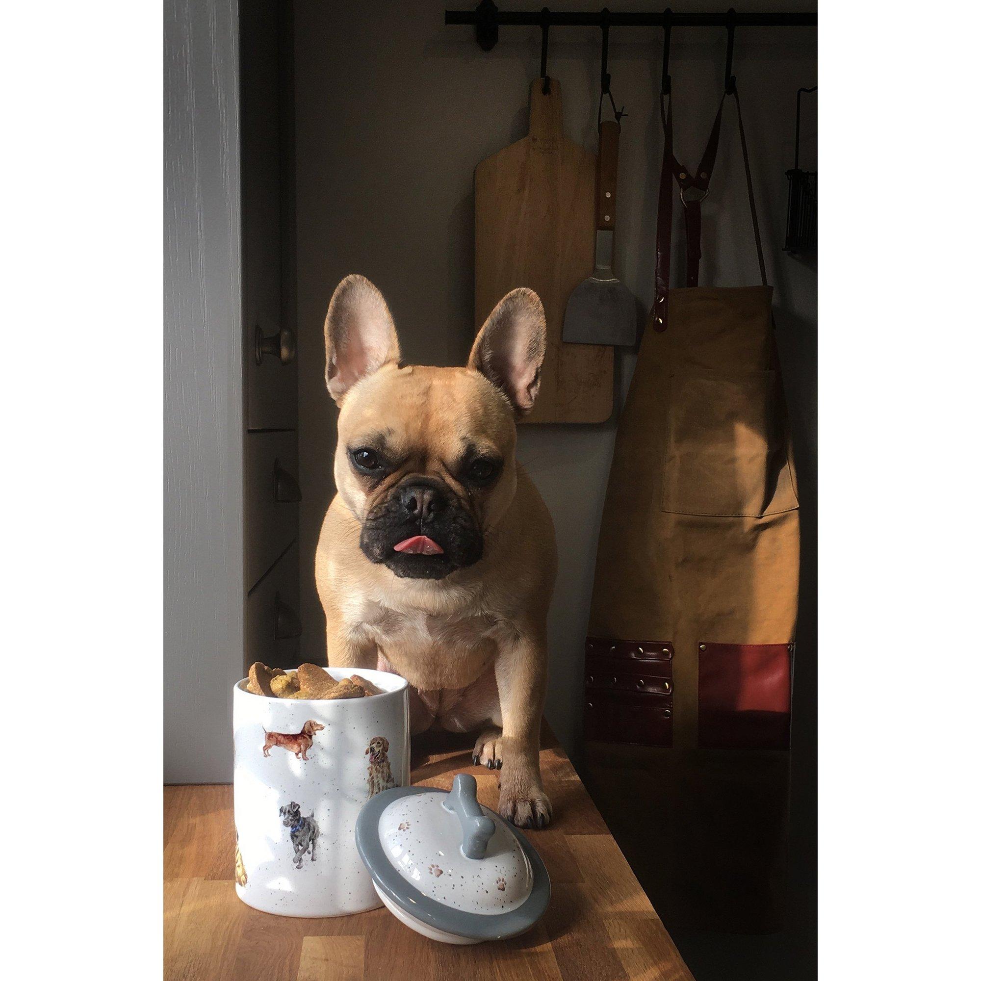 Image of Royal Worcester Wrendale Dog Treat Jar