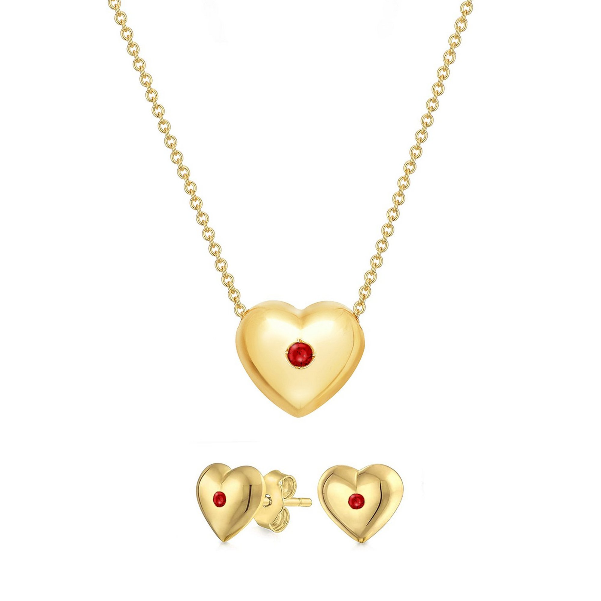 Image of Buckley London In My Heart Dainty Jewellery Set