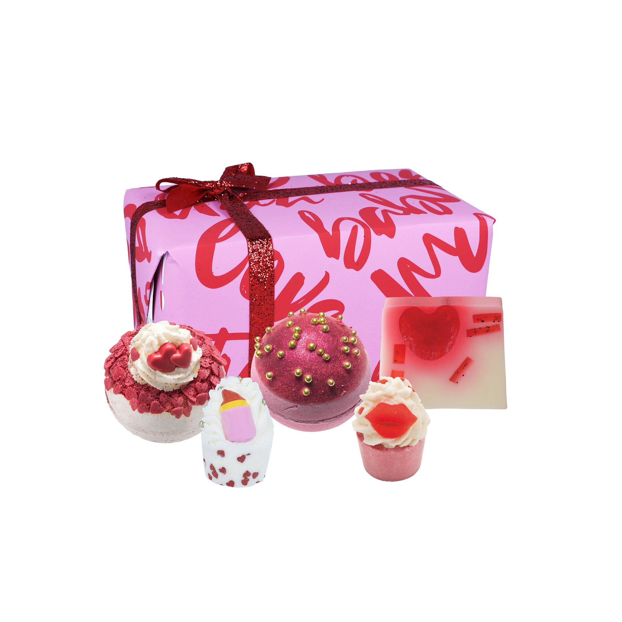 Image of Bomb Cosmetics Date Night Bath Bomb Gift Set