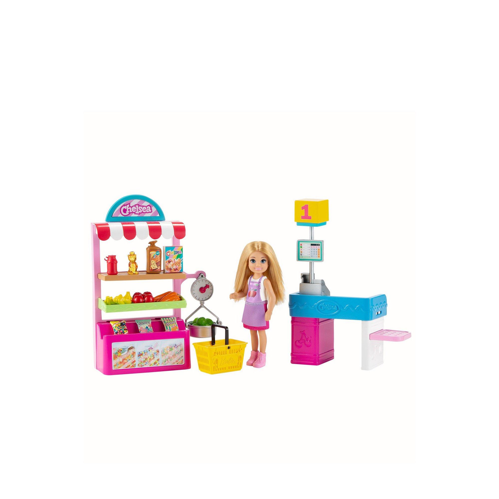Image of Barbie Chelsea Supermarket