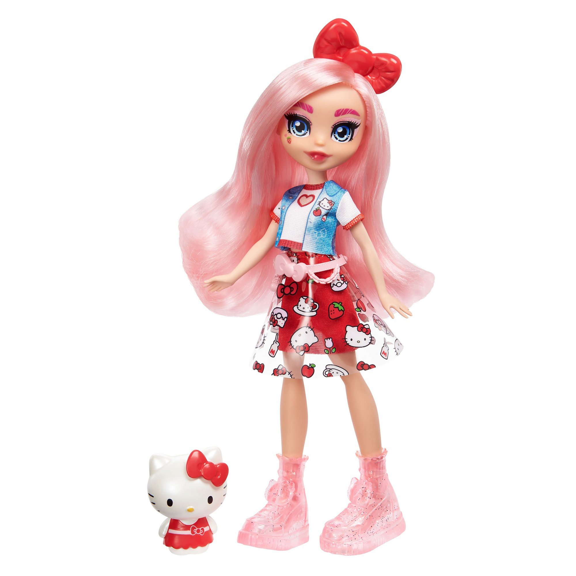 Image of Eclair and Hello Kitty Doll