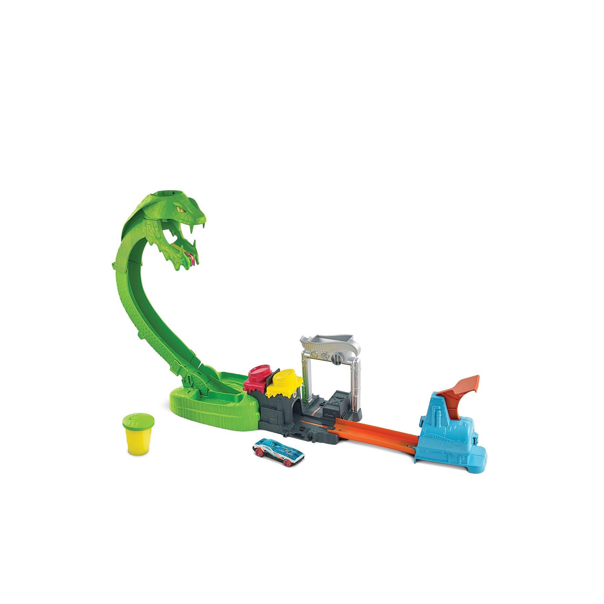 Image of Hot Wheels City Toxic Snake Strike Play Set