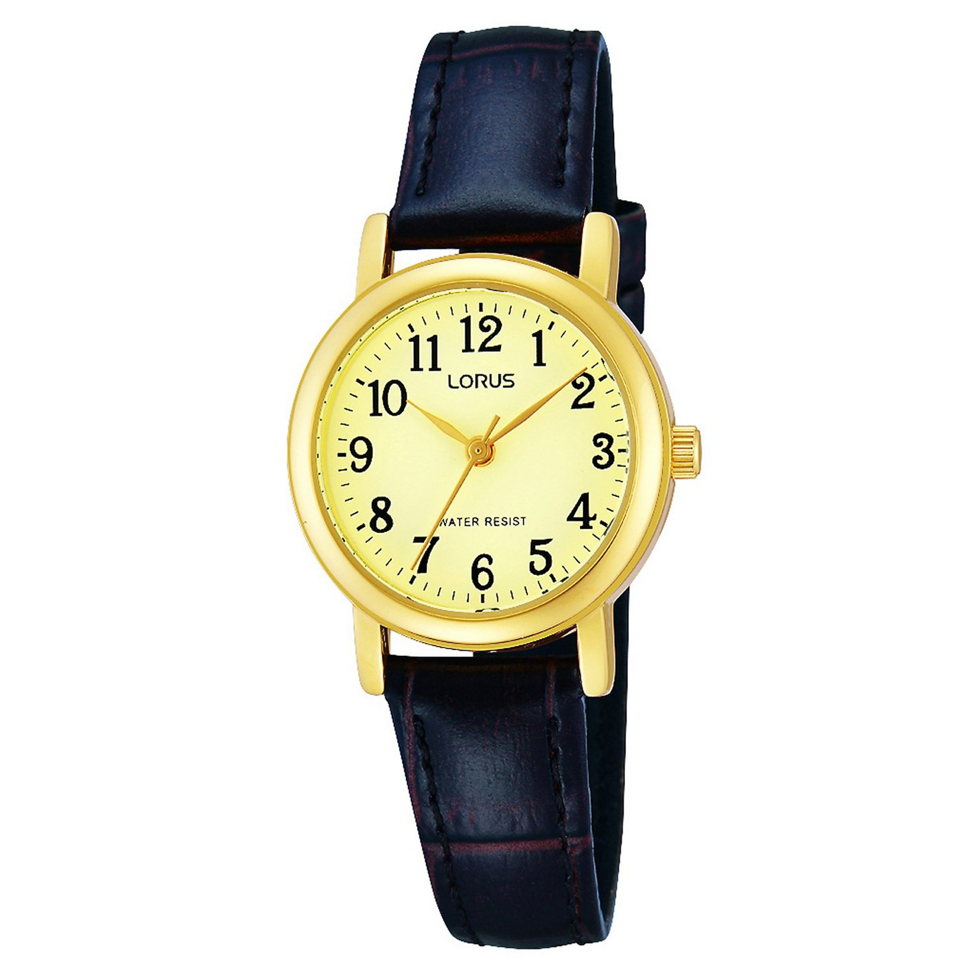 Image of Lorus Classic Watch with Clear Arabic Numerals and Second Hand