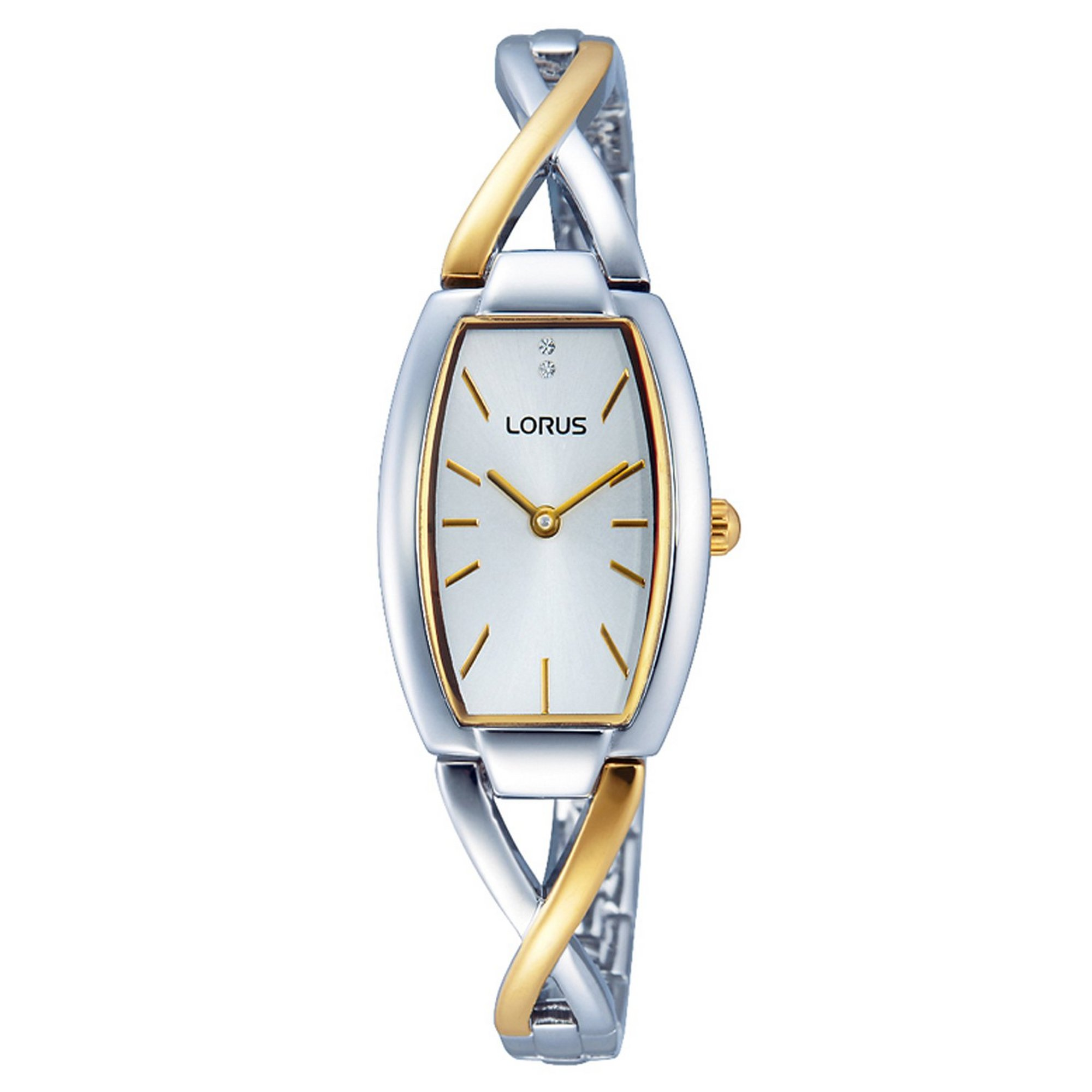 Image of Lorus Dress Watch with Two Tone Shaped Strap