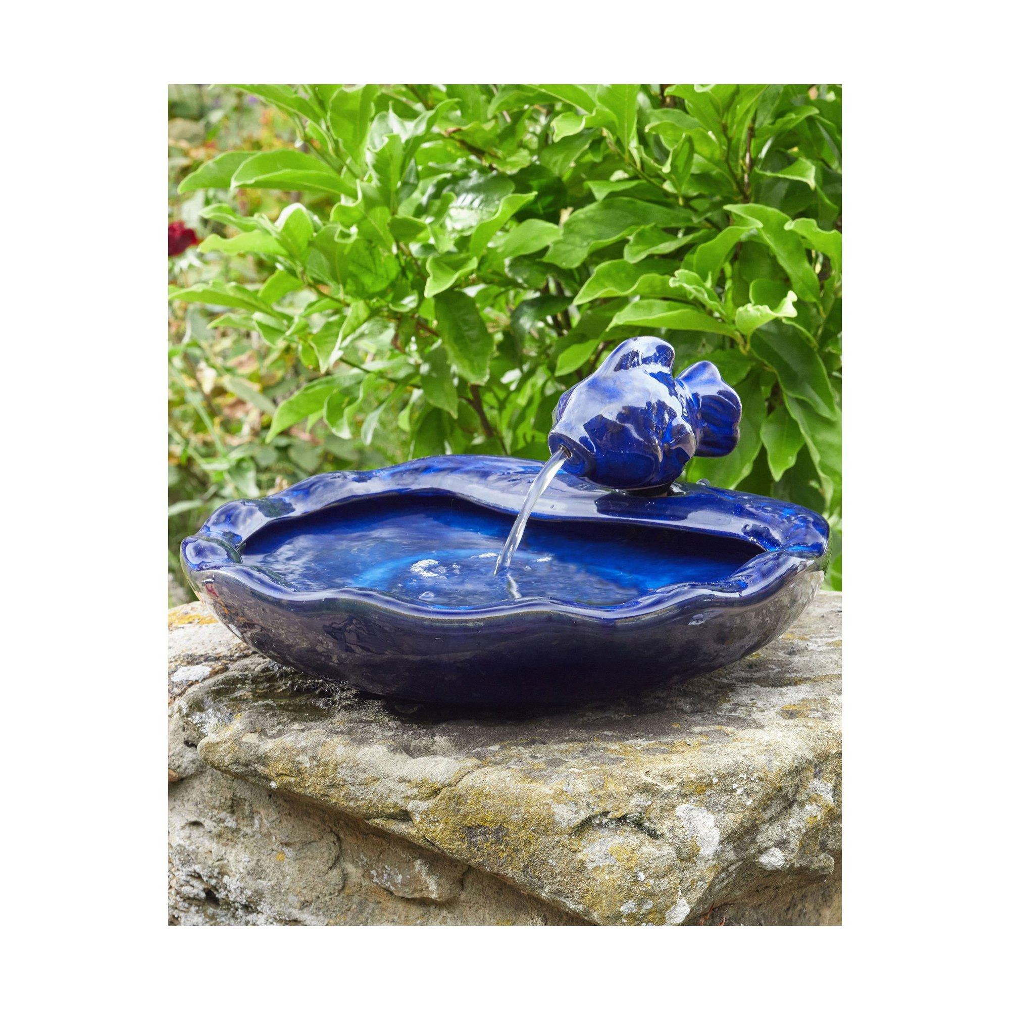 Image of Ceramic Fish Water Feature