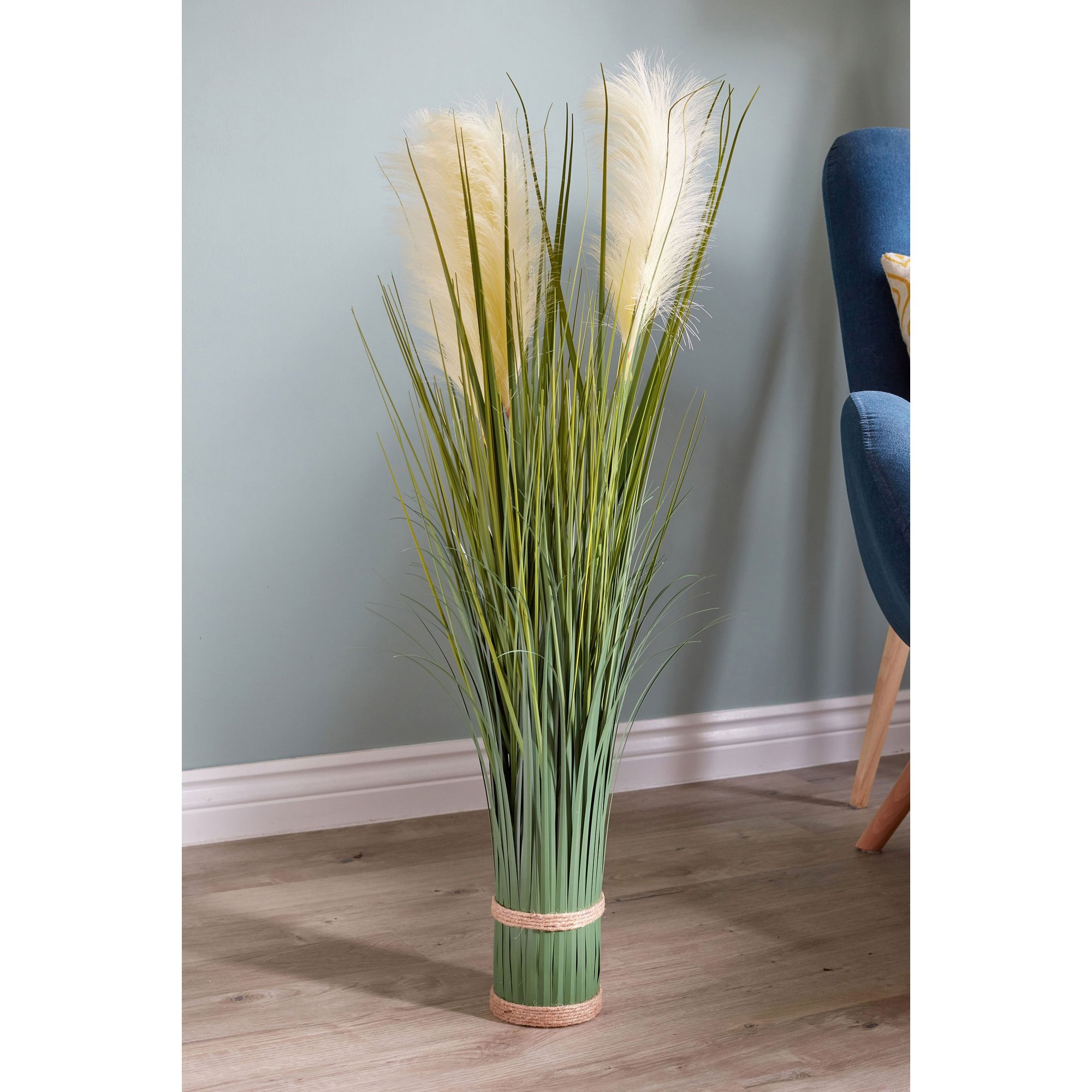 Image of Faux Bouquet White Pampas