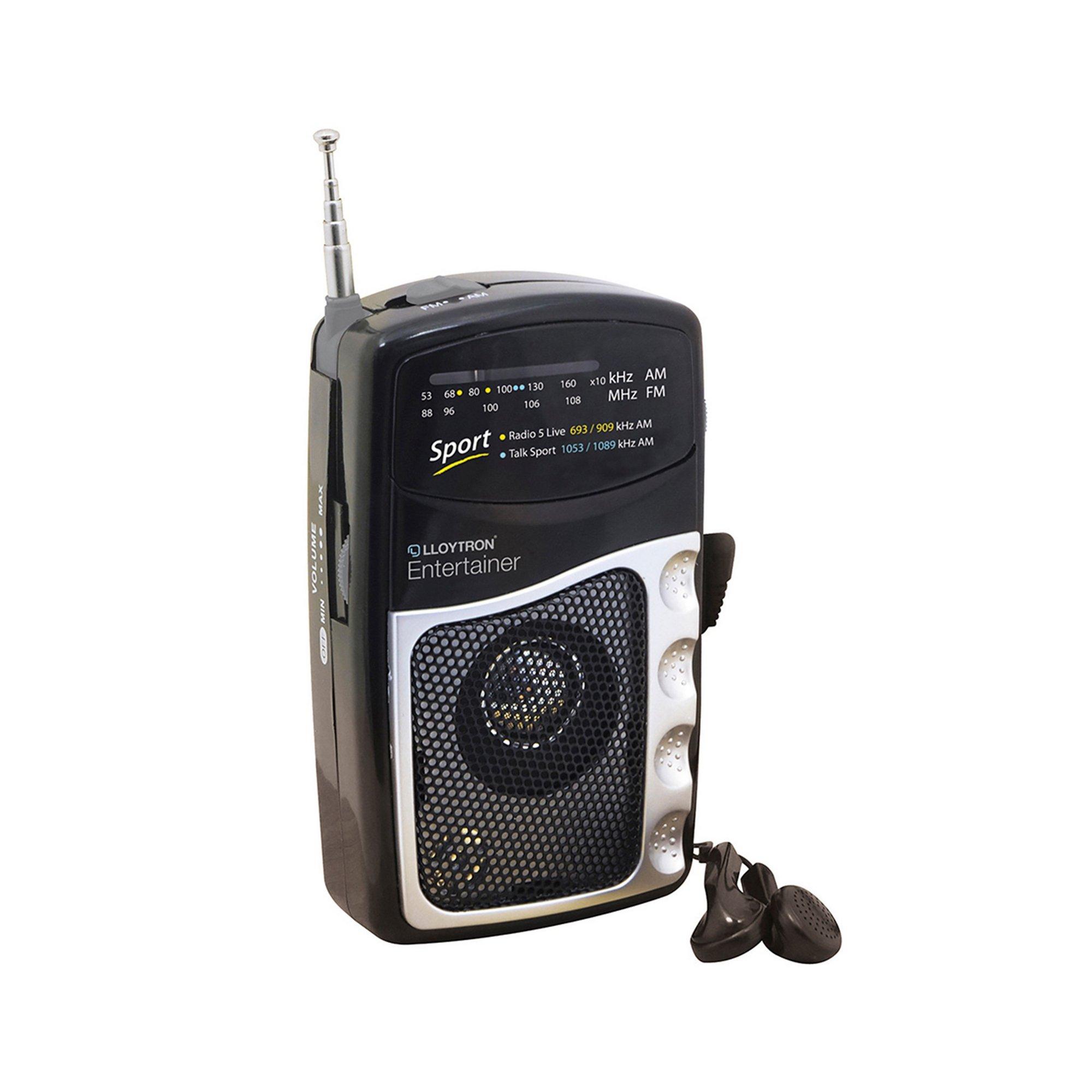 Image of Lloytron Entertainer AM/FM Personal Radio