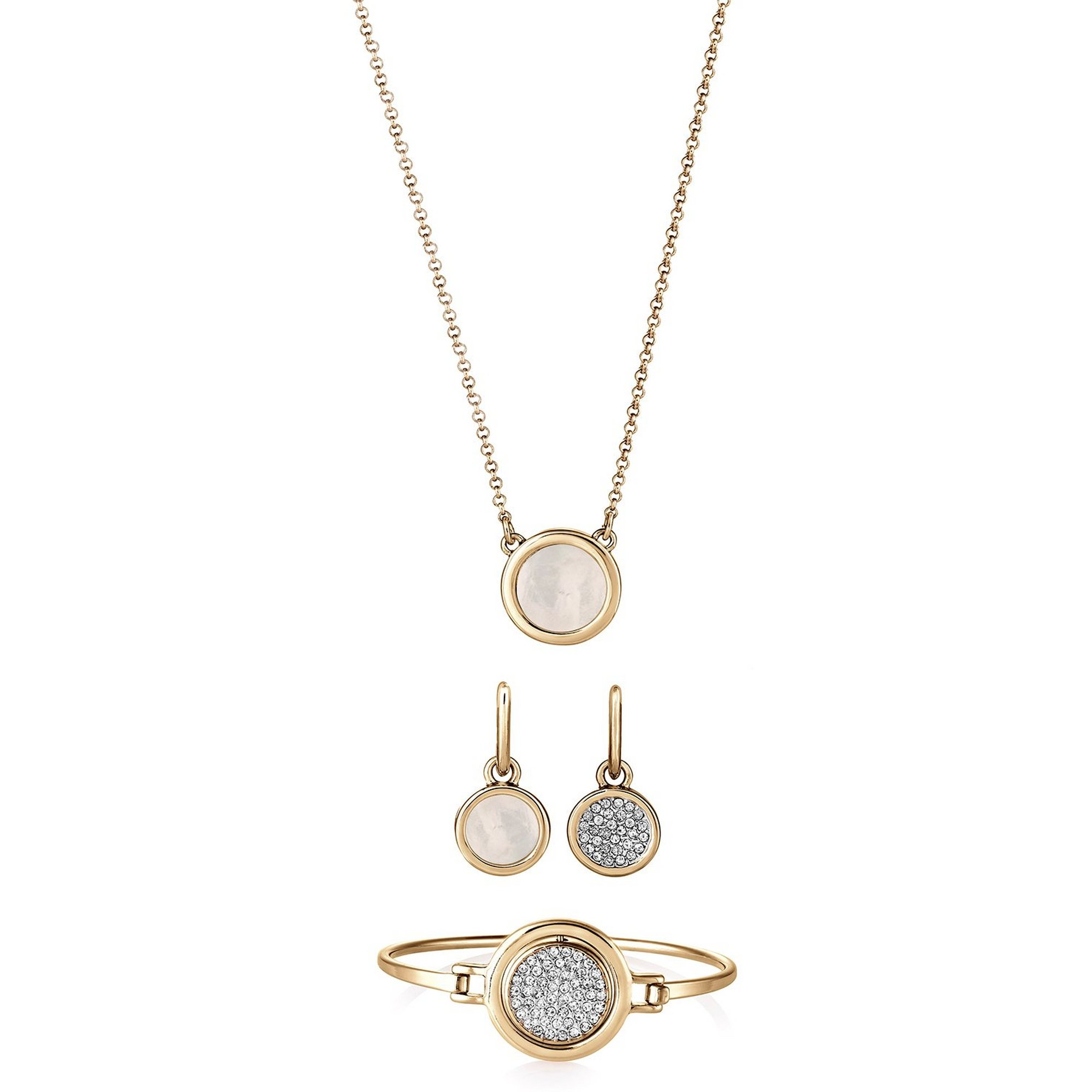 Image of Buckley London Gold Plated Eclipse Set