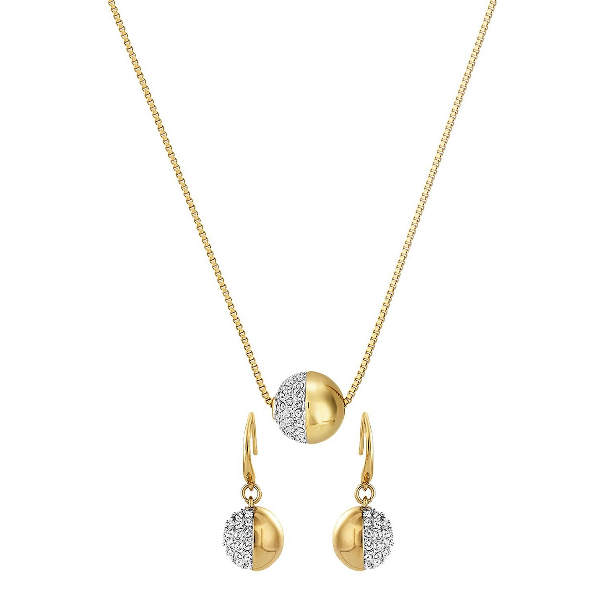 Image of Buckley London Greenwich Pendant and Earring Set