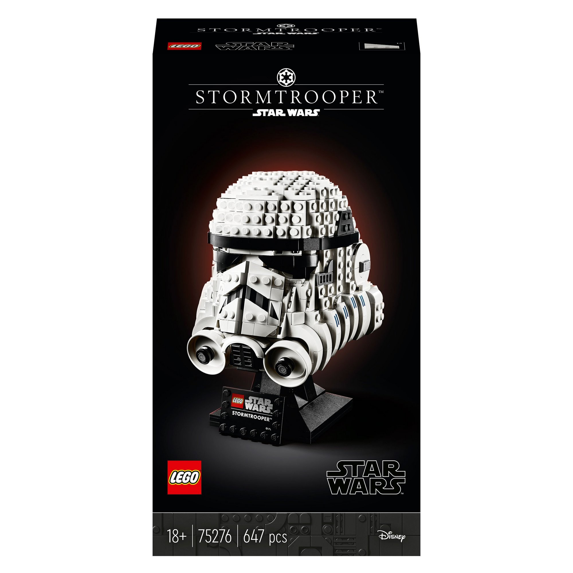 Image of LEGO Star Wars Stormtrooper Helmet