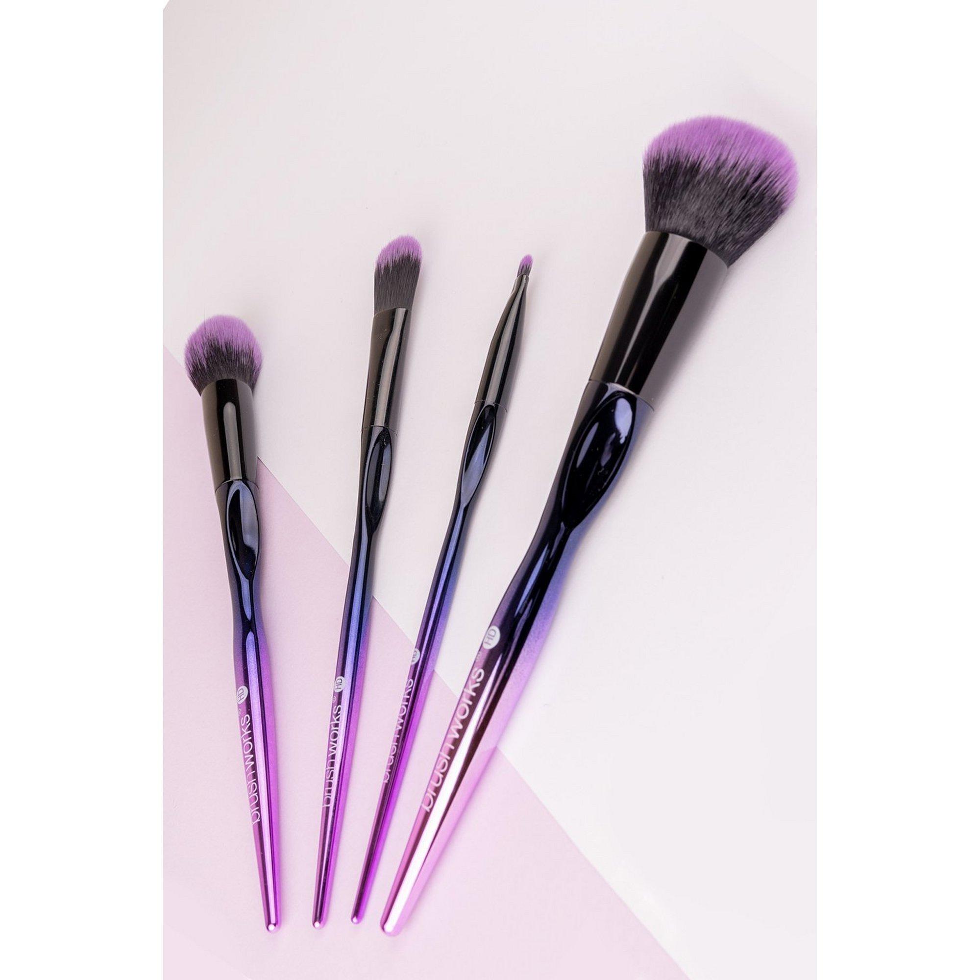 Image of Brushworks HD Complete Face Make Up Brush Set