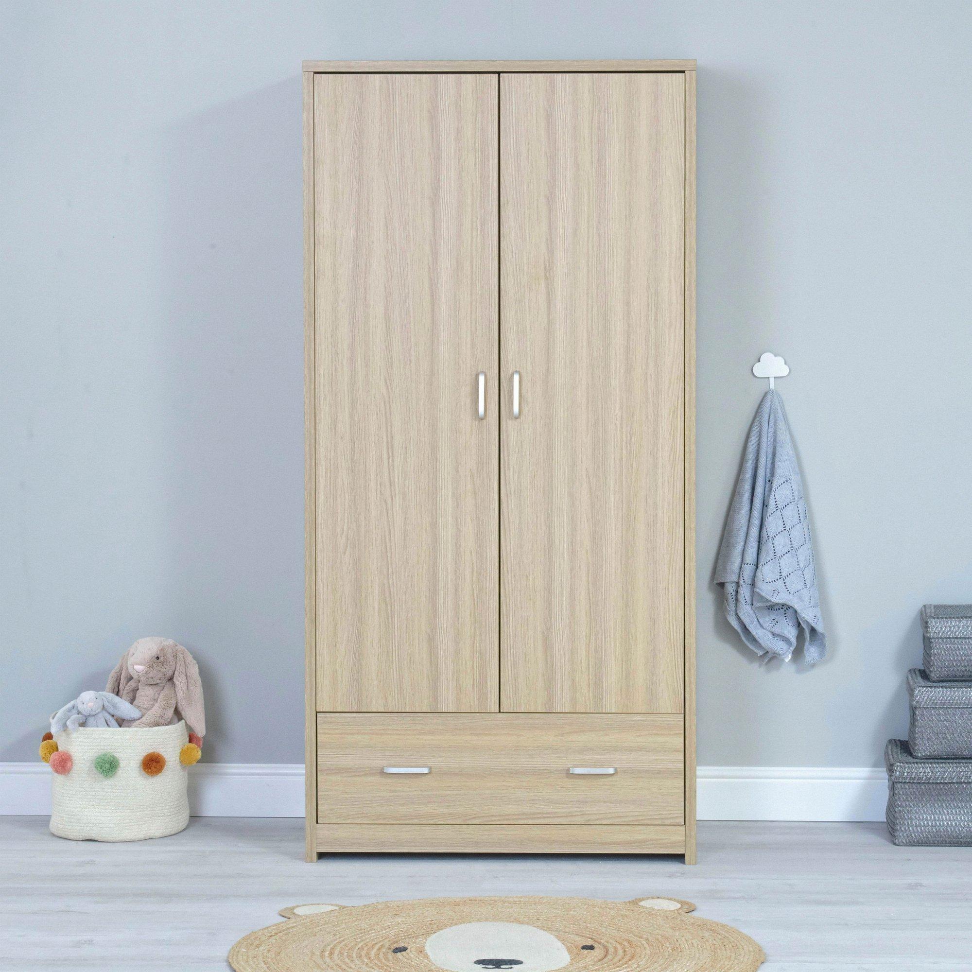 Image of Luno Veni Oak Wardrobe