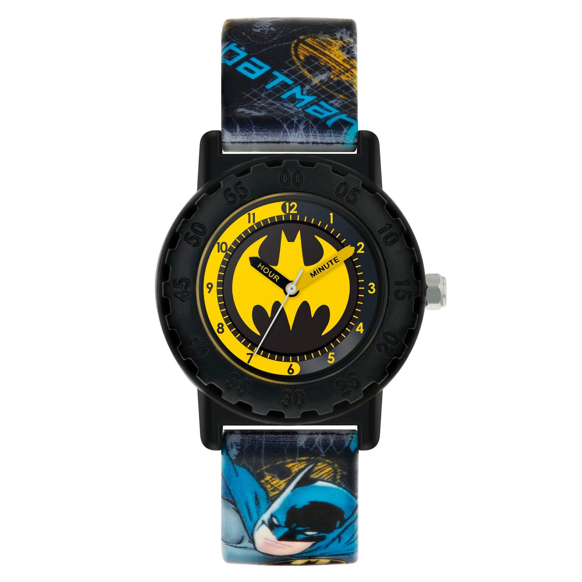 Image of Batman Kids Printed Silicone Strap Analogue Watch